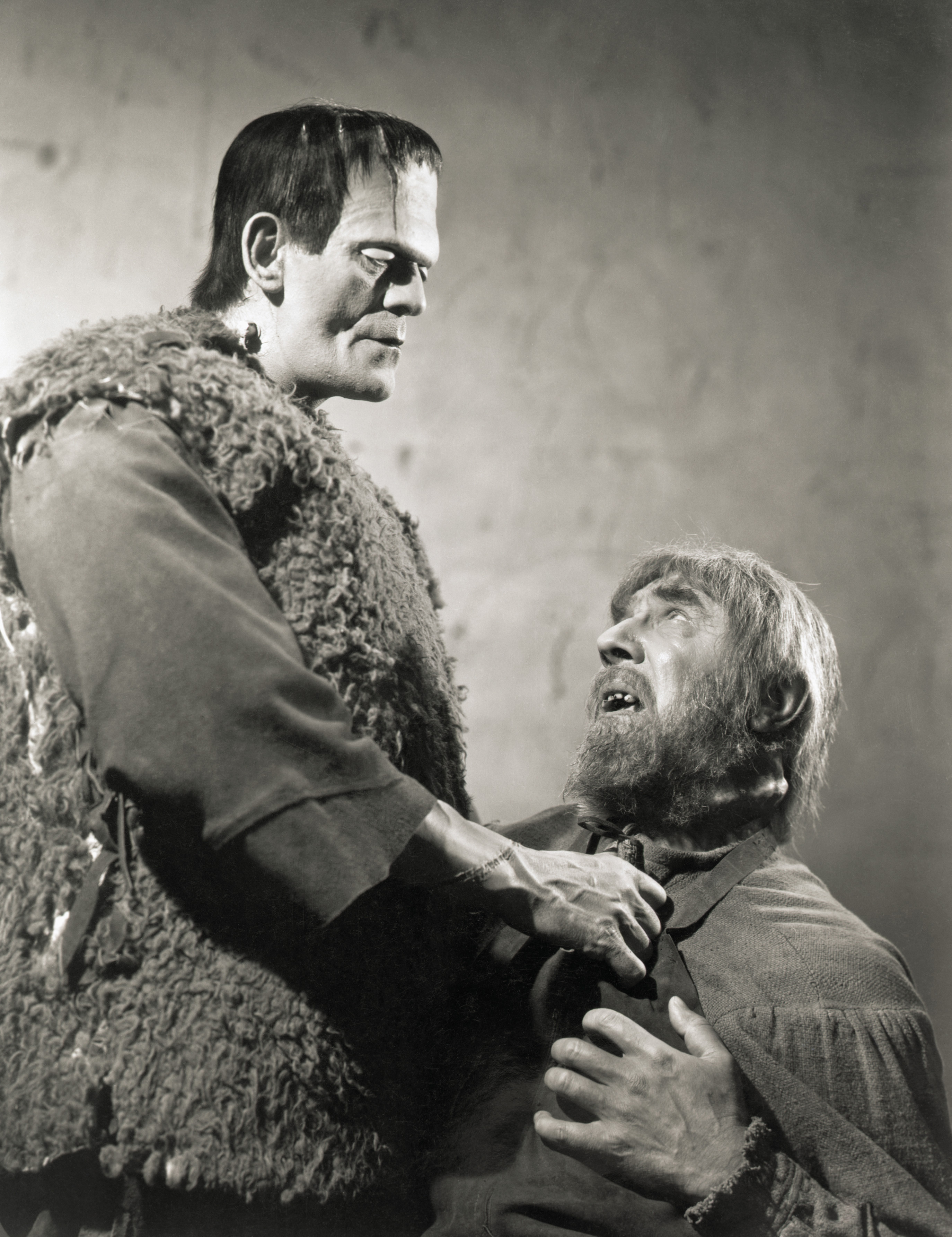 Boris Karloff With Bela Lugosi