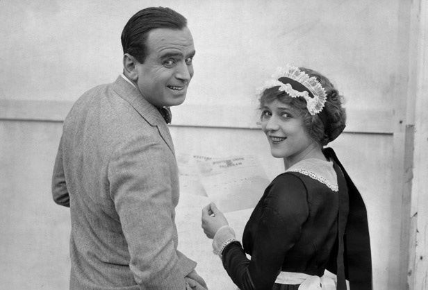 Mary Pickford and Douglas Fairbanks, Sr. were married today in 1920.