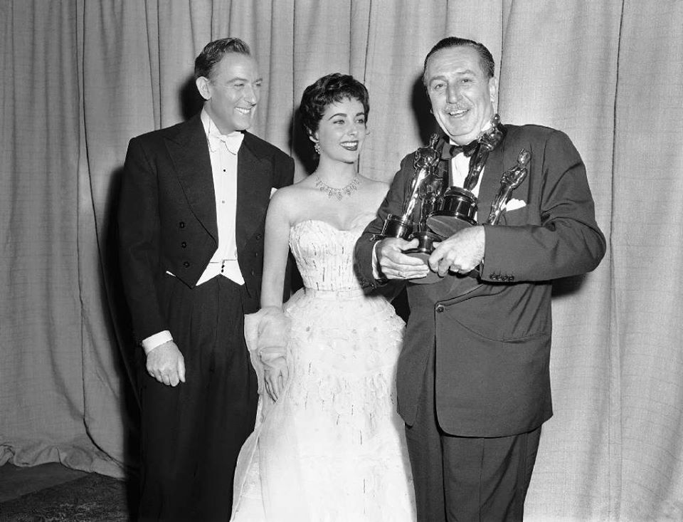 On this day in 1932, Walt Disney is given a special Oscar for the
