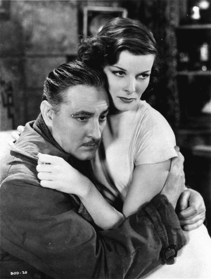 John Barrymore and Katharine Hepburn
