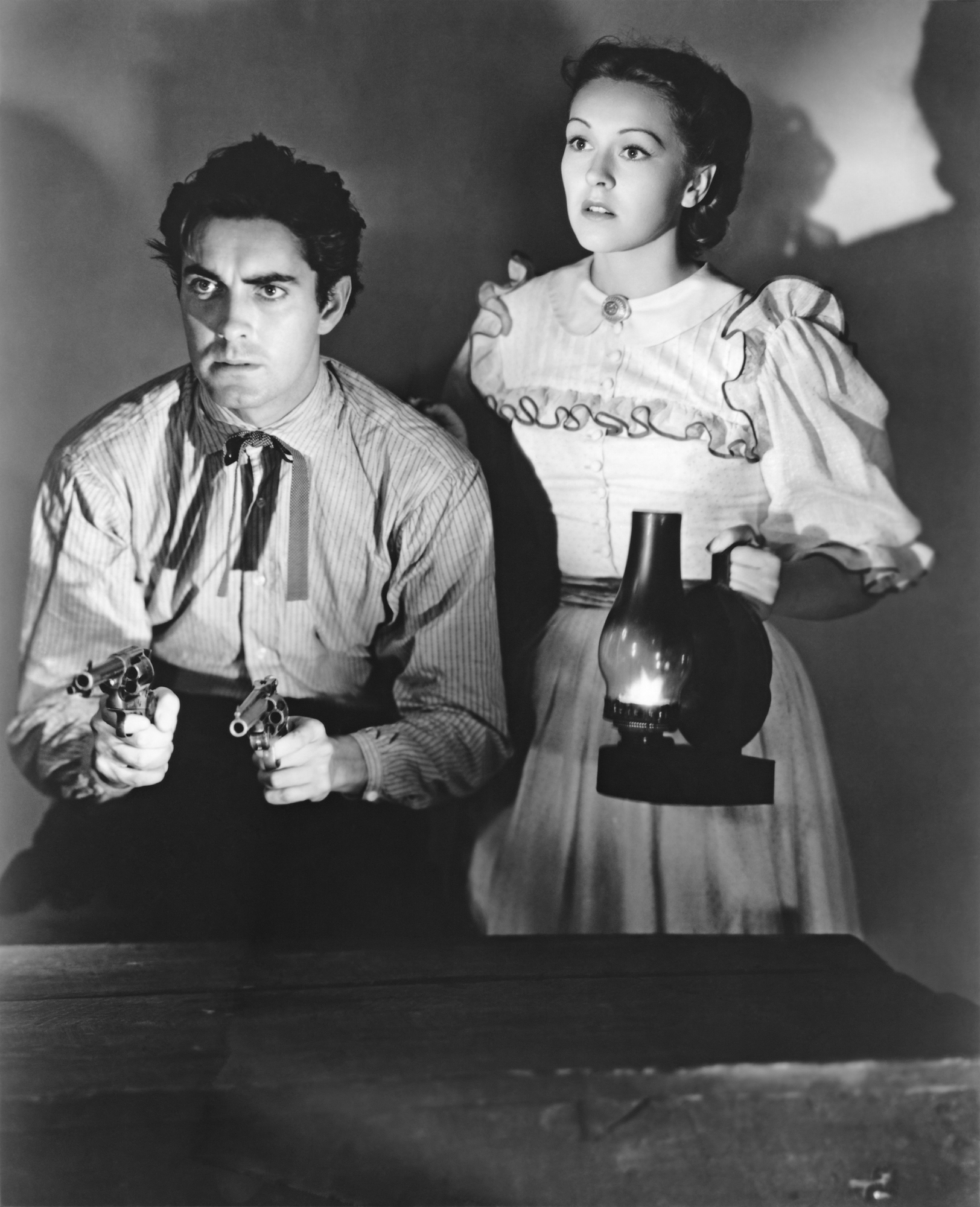 Nancy Kelly in Jesse James with With Tyrone Power, Jr., (Courtesy of Sarah and Michelle)