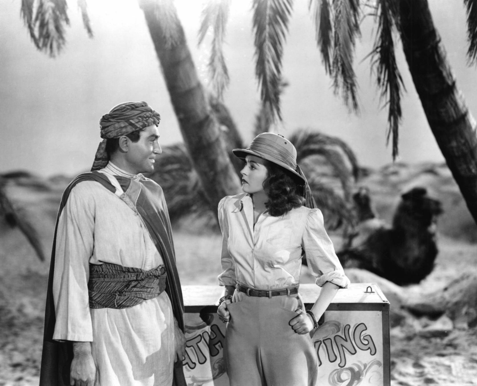 Nancy Kelly in Tarzan's Desert Mystery