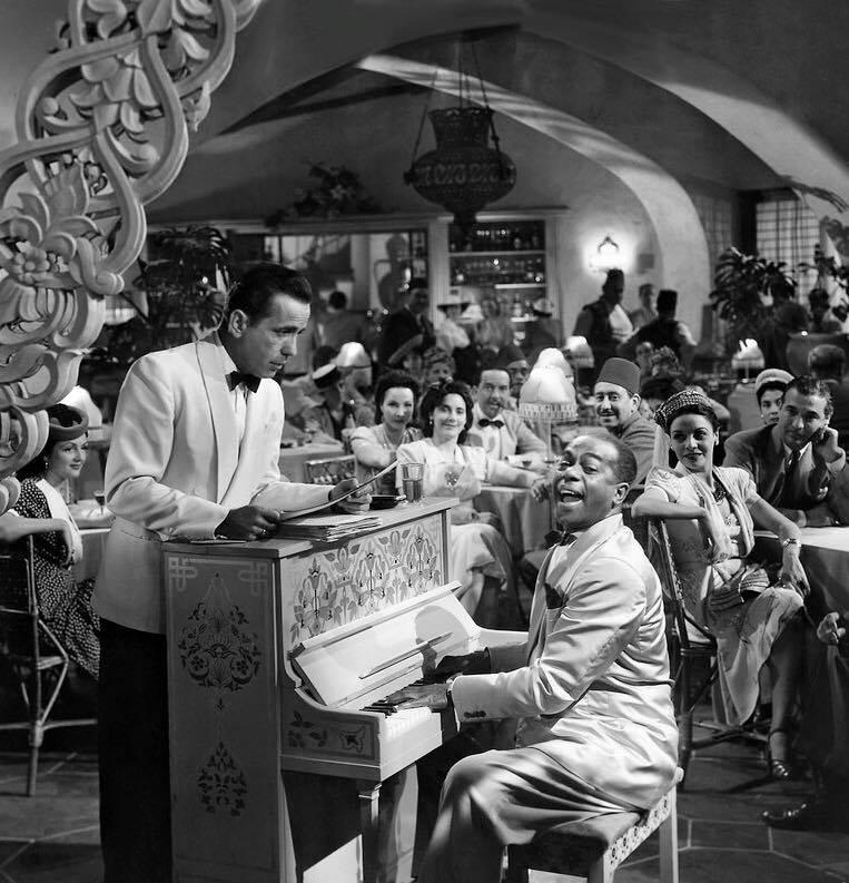 Dooley Wilson, Casablanca's unforgettable Sam, was born on this day in 1886.