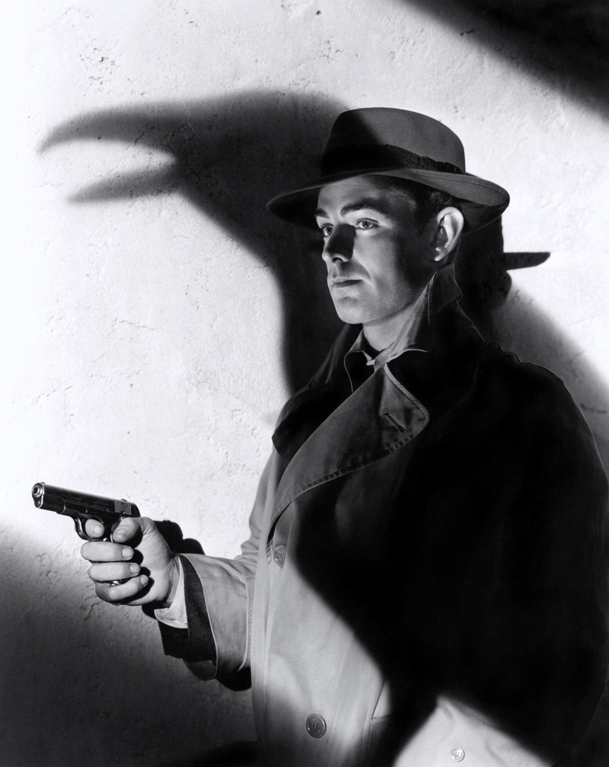 Alan Ladd in This Gun for Hire Courtesy of Karl
