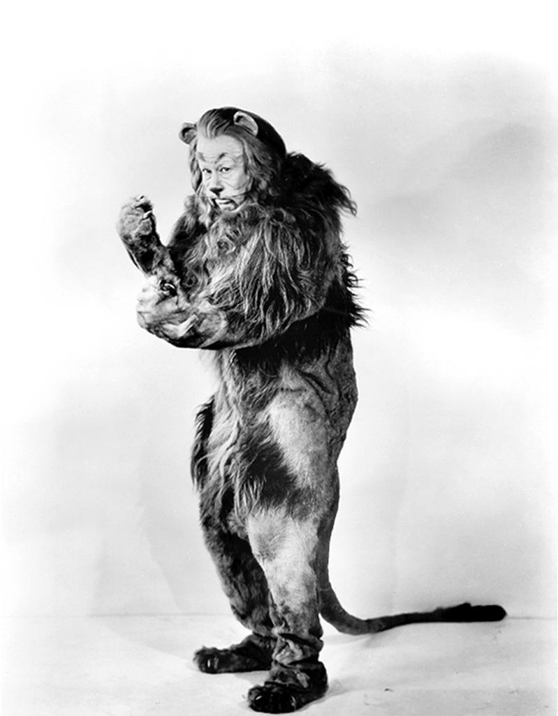 Bert Lahr in The Wizard of Oz