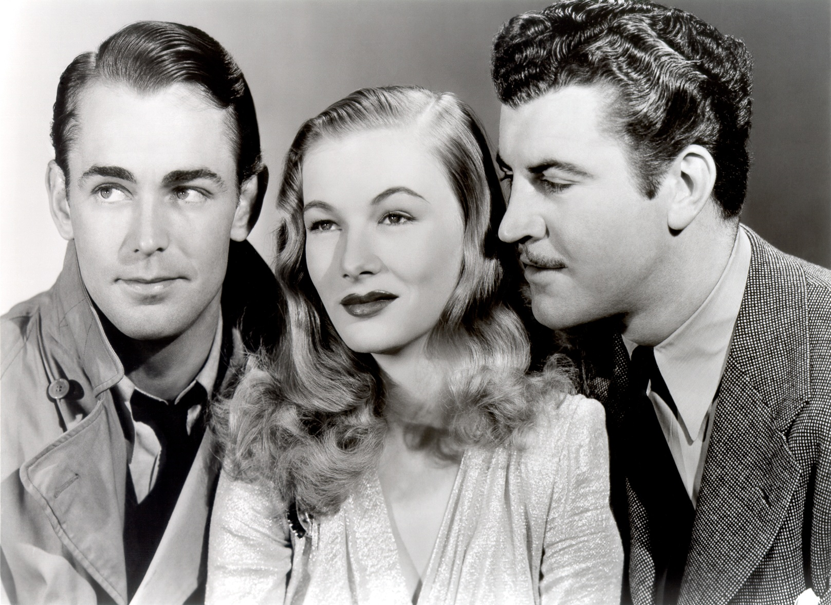Veronica Lake in This Gun for Hire (L to R) Alan Ladd, Veronica Lake, Robert Preston