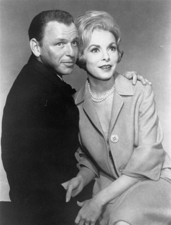 Frank Sinatra and Janet Leigh