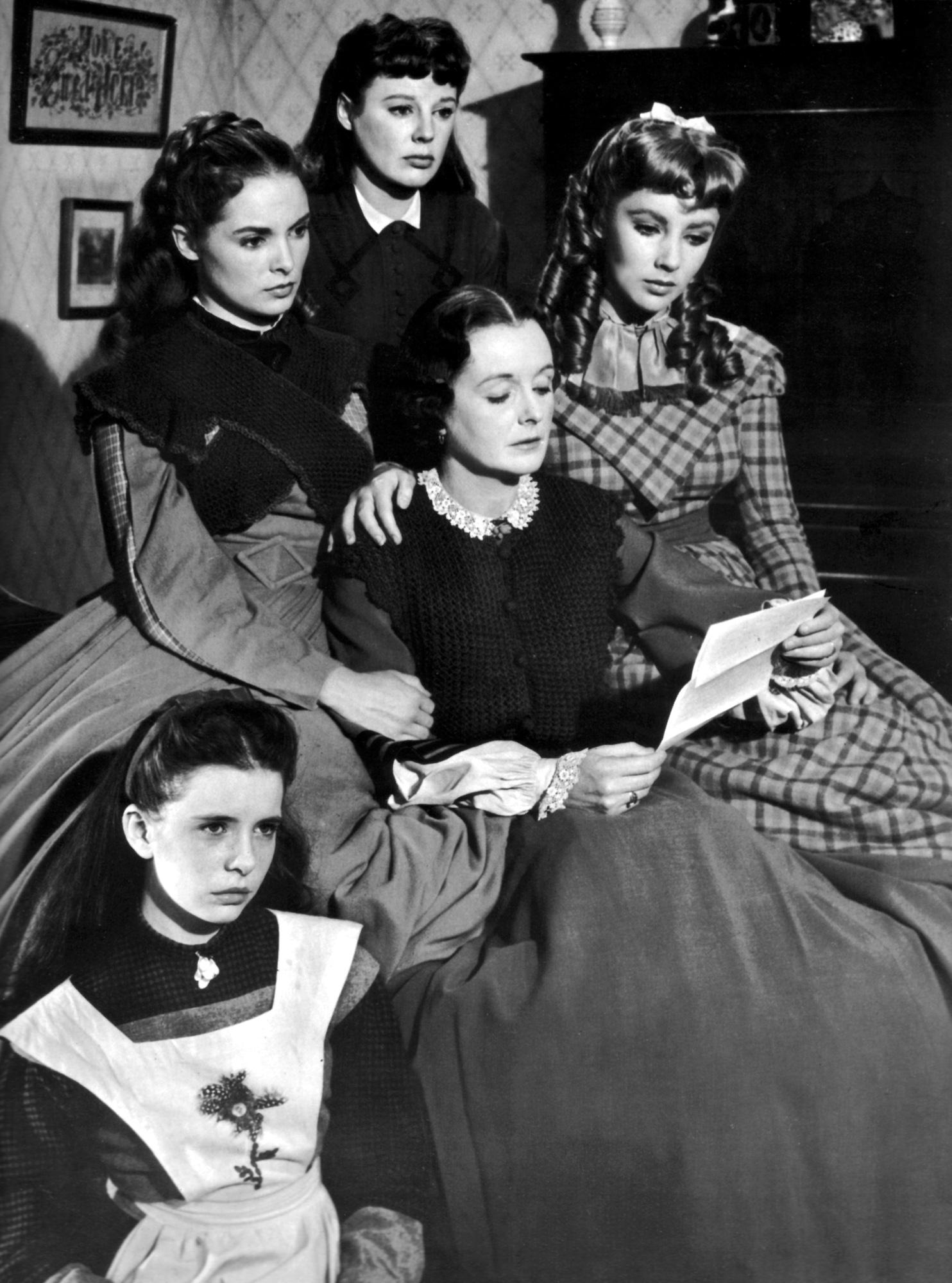 (L to R) Margaret O'Brien Janet Leigh, June Allyson, Mary Astor, Elizabeth Taylor