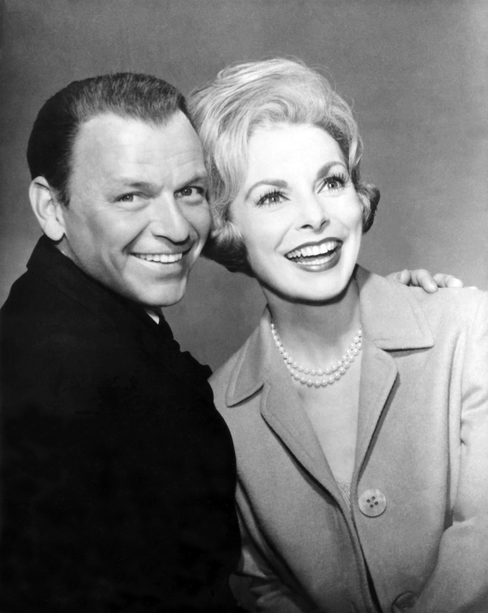 Janet Leigh With Frank Sinatra