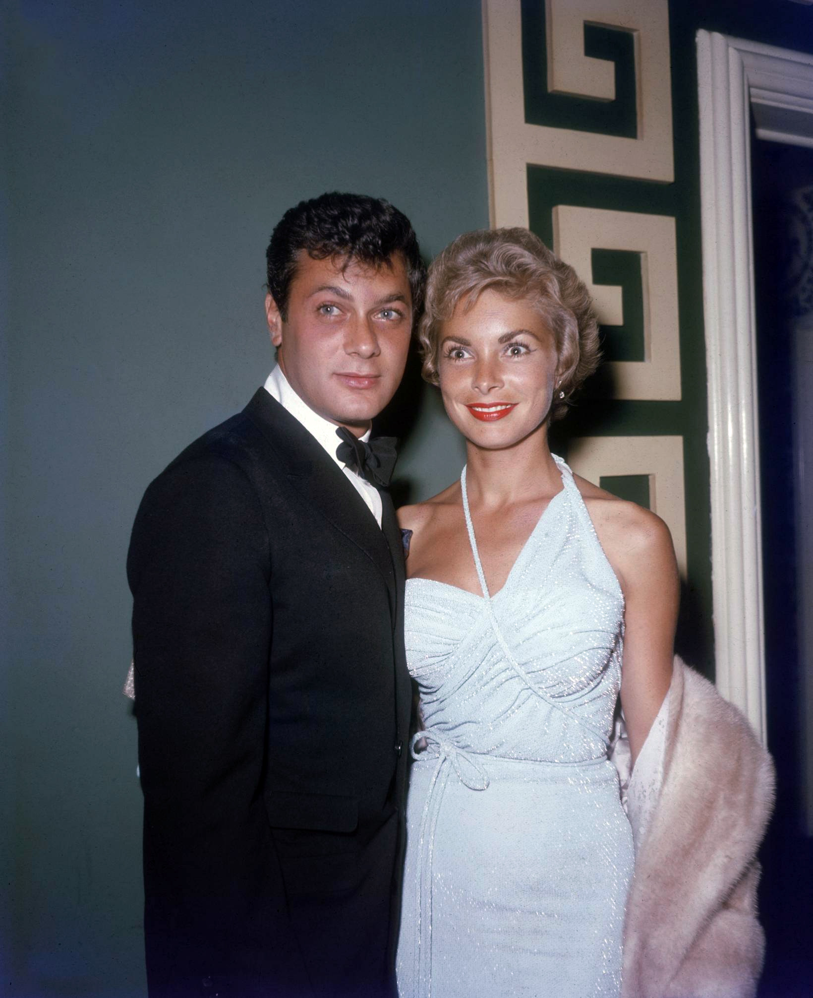 Janet Leigh With Tony Curtis