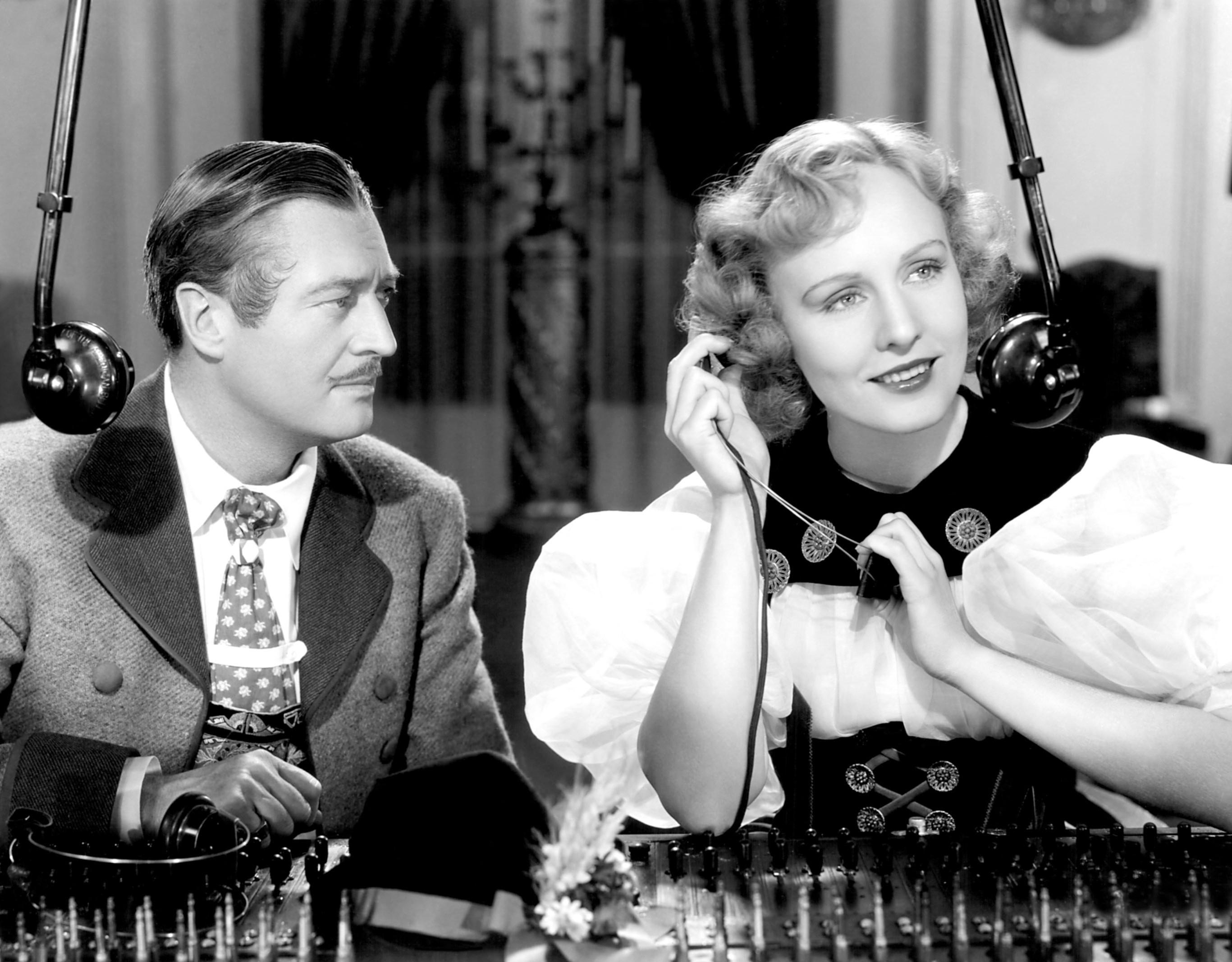 Edmund Lowe With Madge Evans