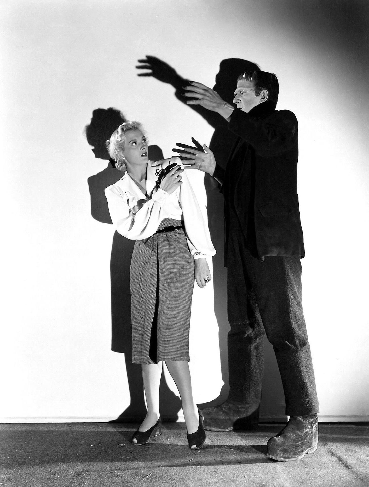 Bela Lugosi With Ilona Massey