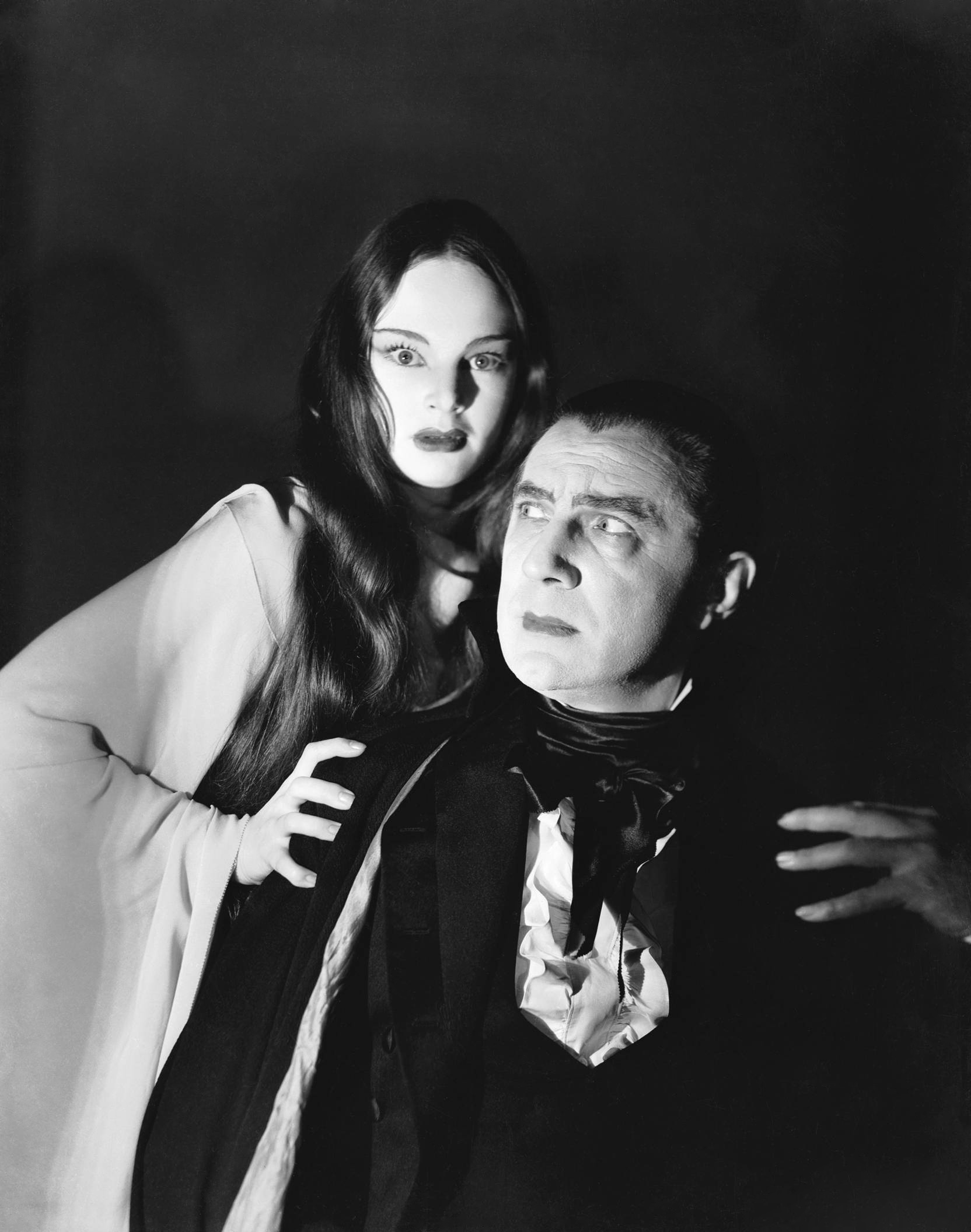 Bela Lugosi With Carol Borland
