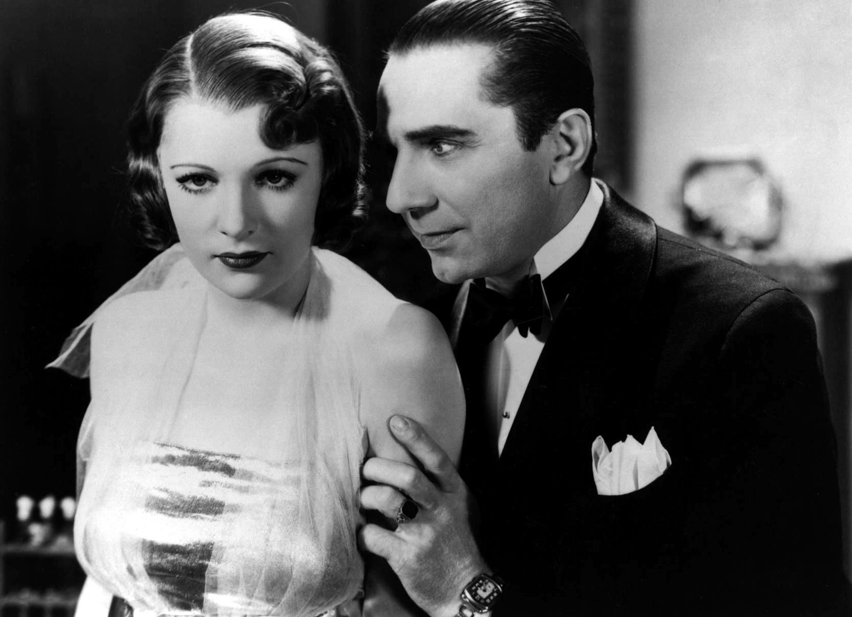 Bela Lugosi With Irene Ware.