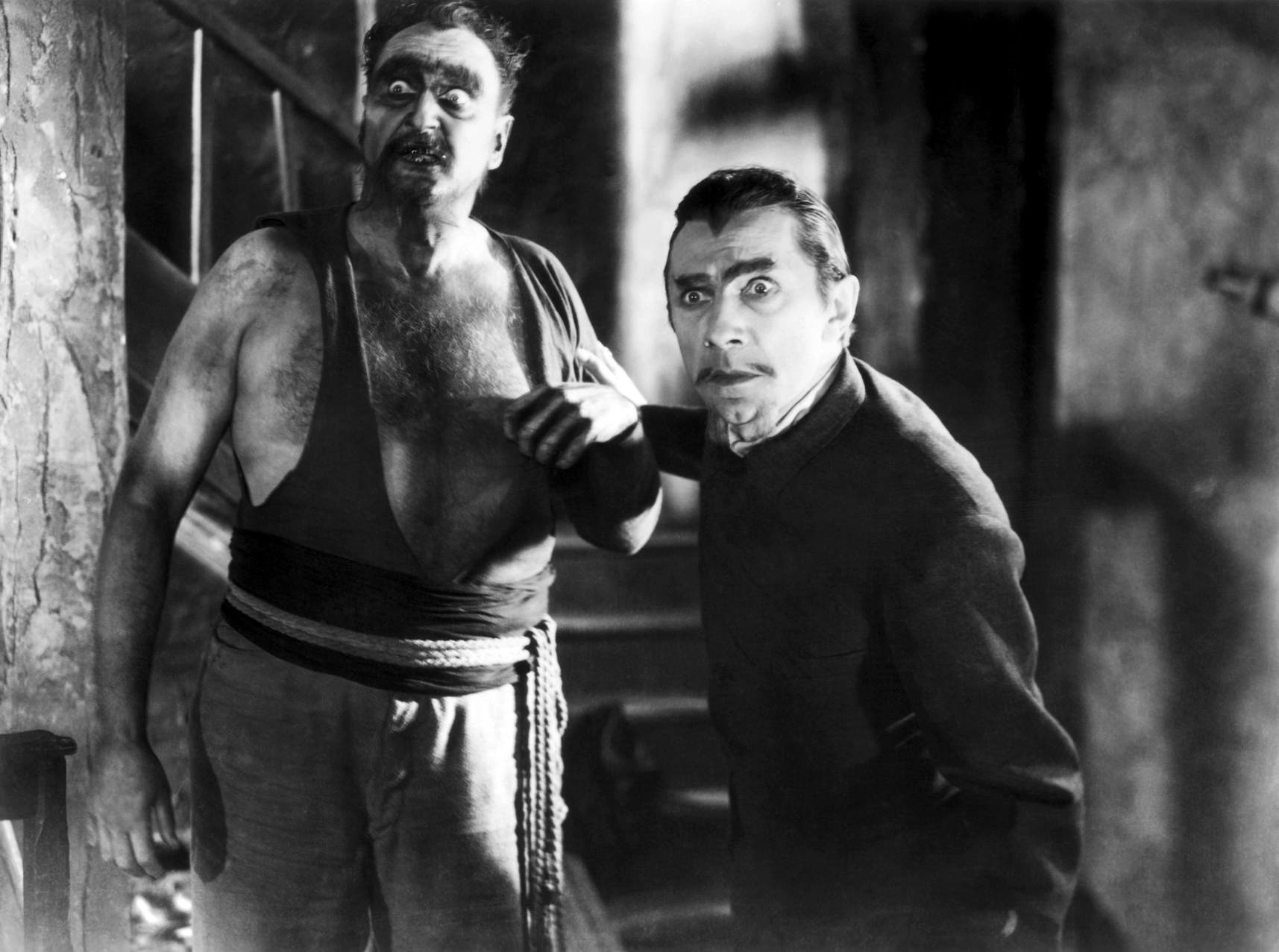 Bela Lugosi With Frederick Peters (L)