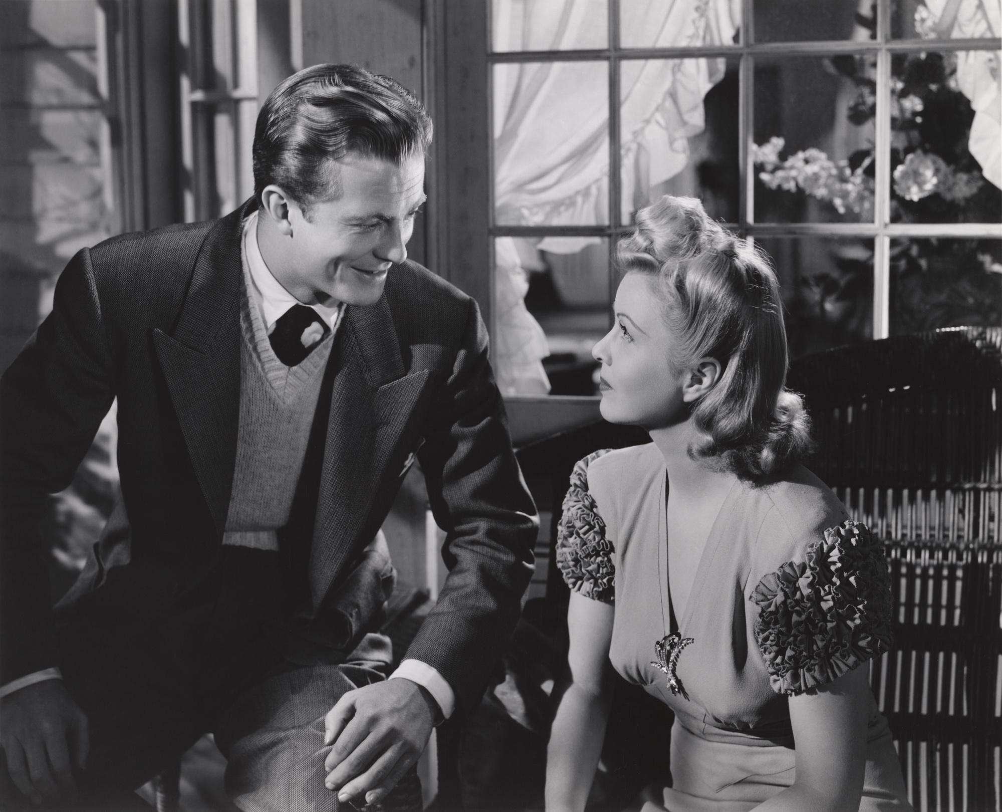 William Lundigan With Cecilia Parker
