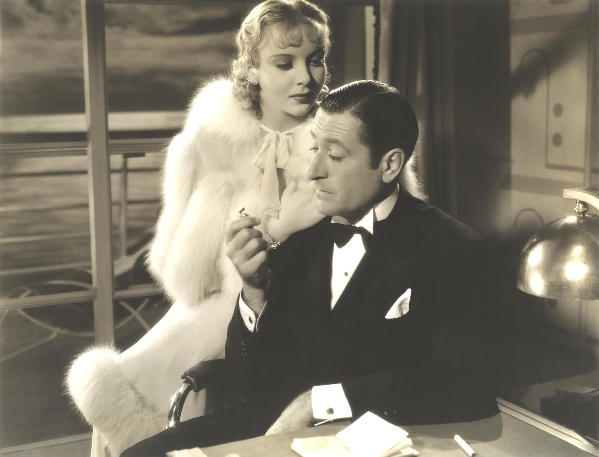 Ida Lupino With Arthur Treacher