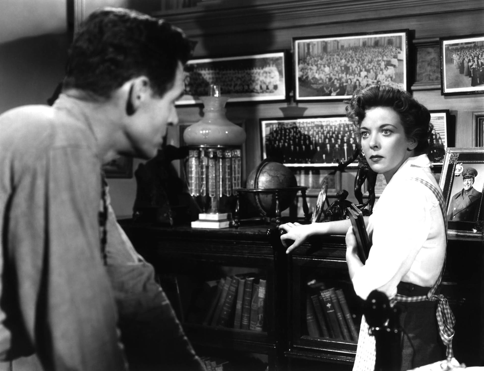 Ida Lupino With Robert Ryan