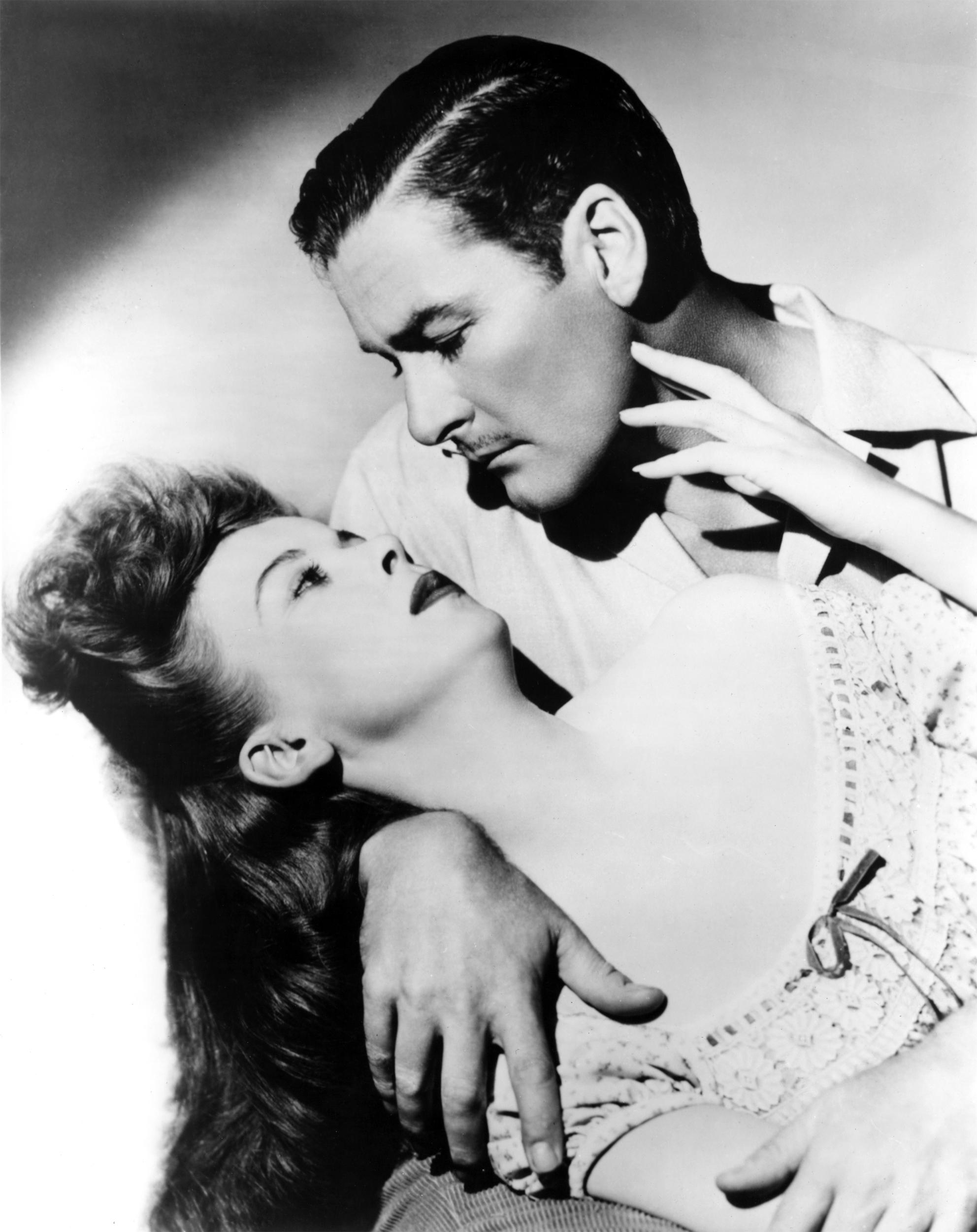 Ida Lupino With Errol Flynn