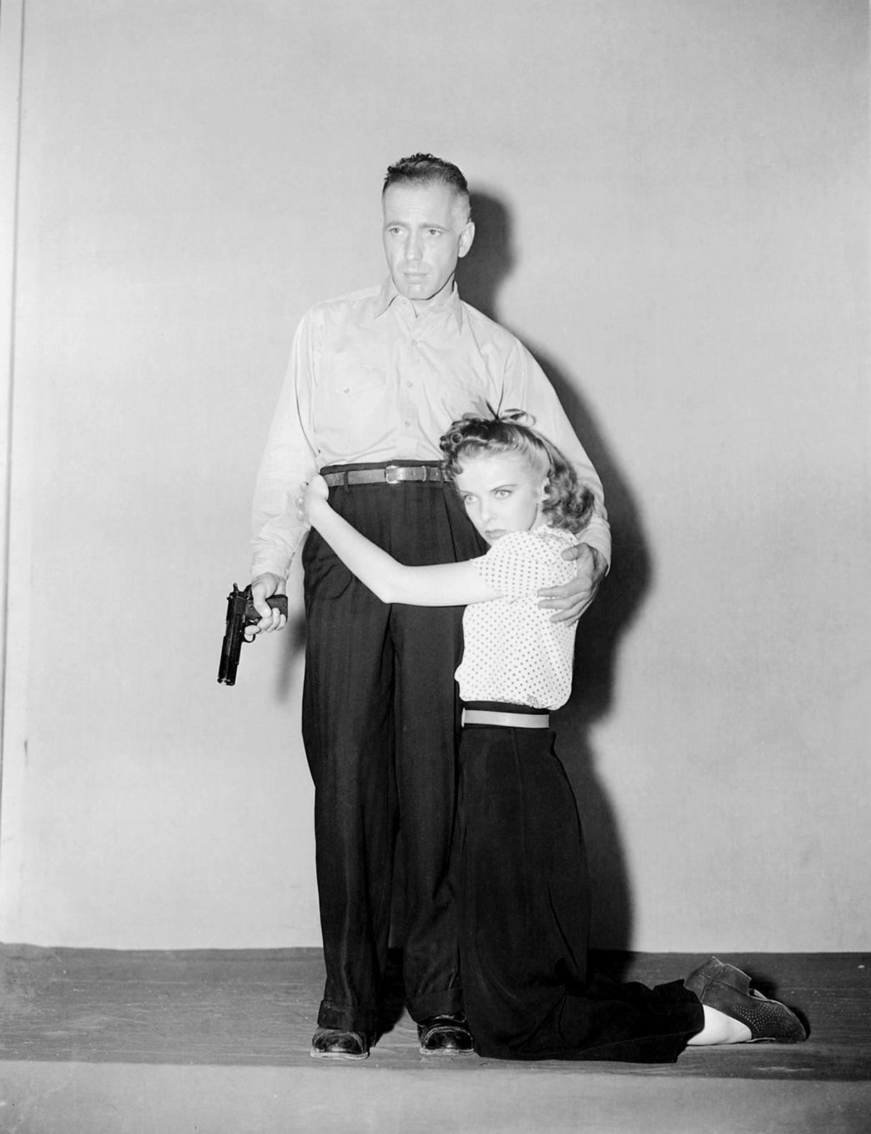 Ida Lupino With Humphrey Bogart