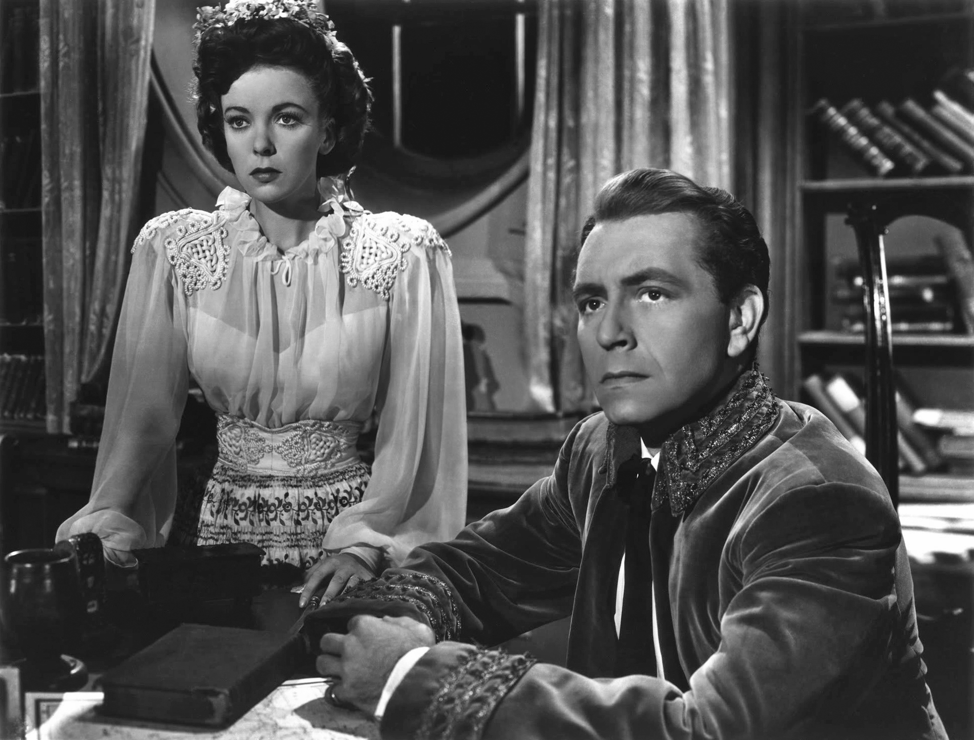 Ida Lupino With Paul Henreid