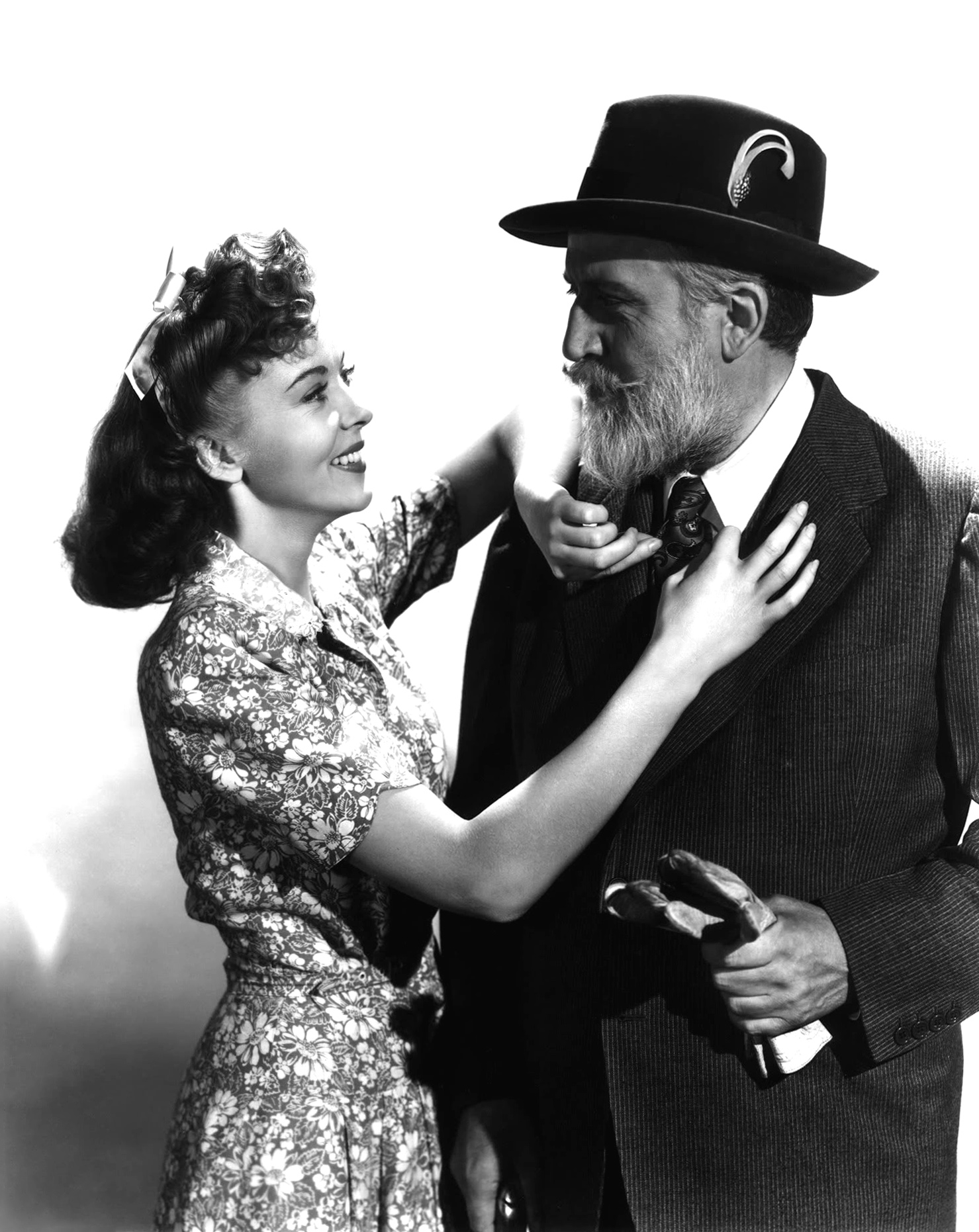 Ida Lupino With Monty Woolley