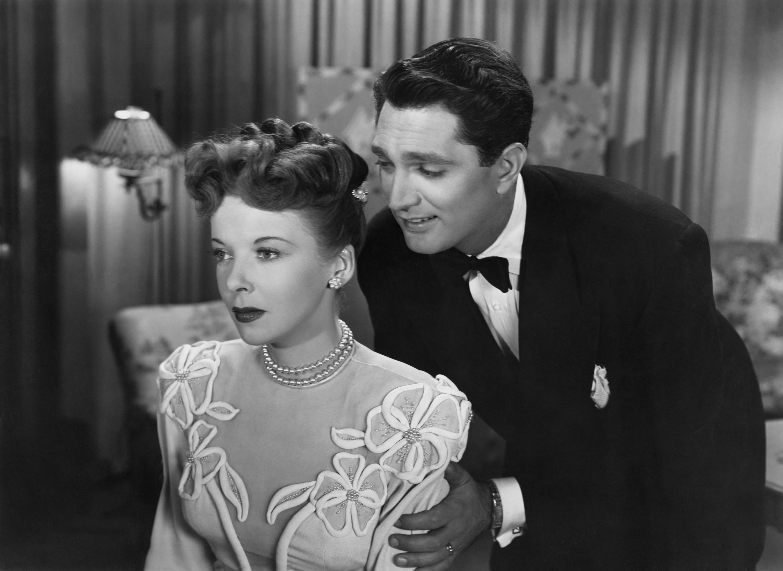 Ida Lupino With Robert Alda