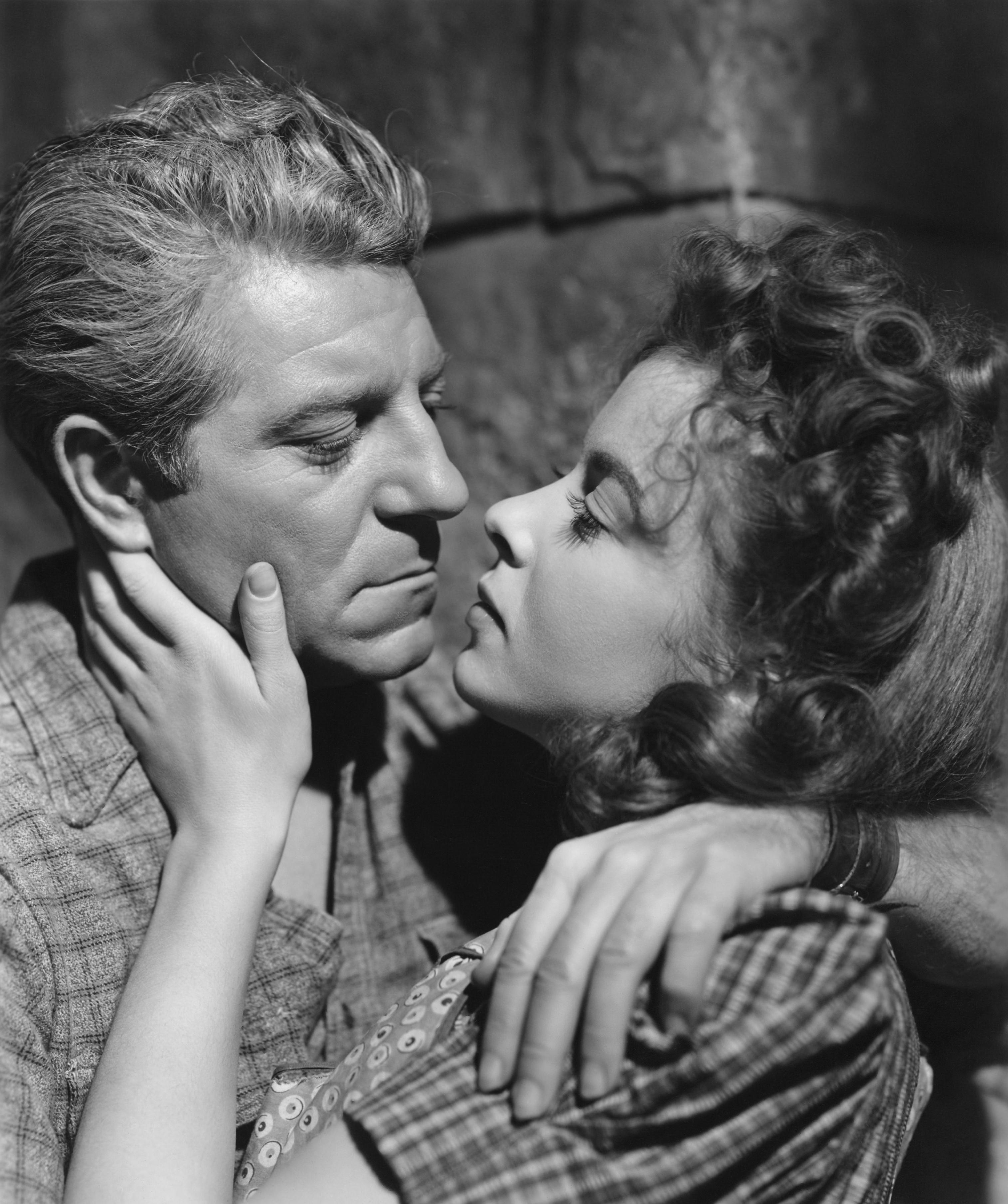 Ida Lupino With Jean Gabin