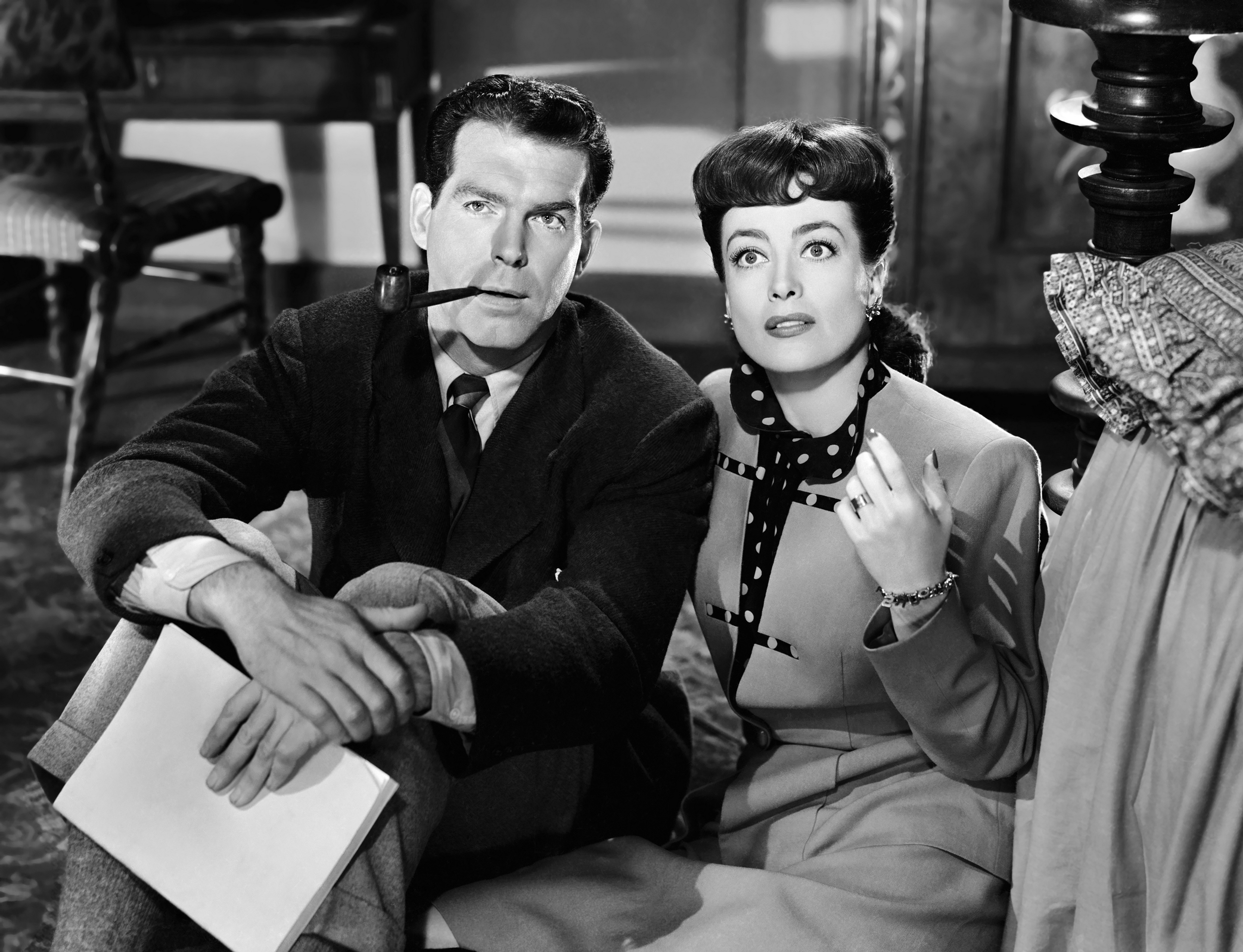 Fred MacMurray in Above Suspicion With Joan Crawford