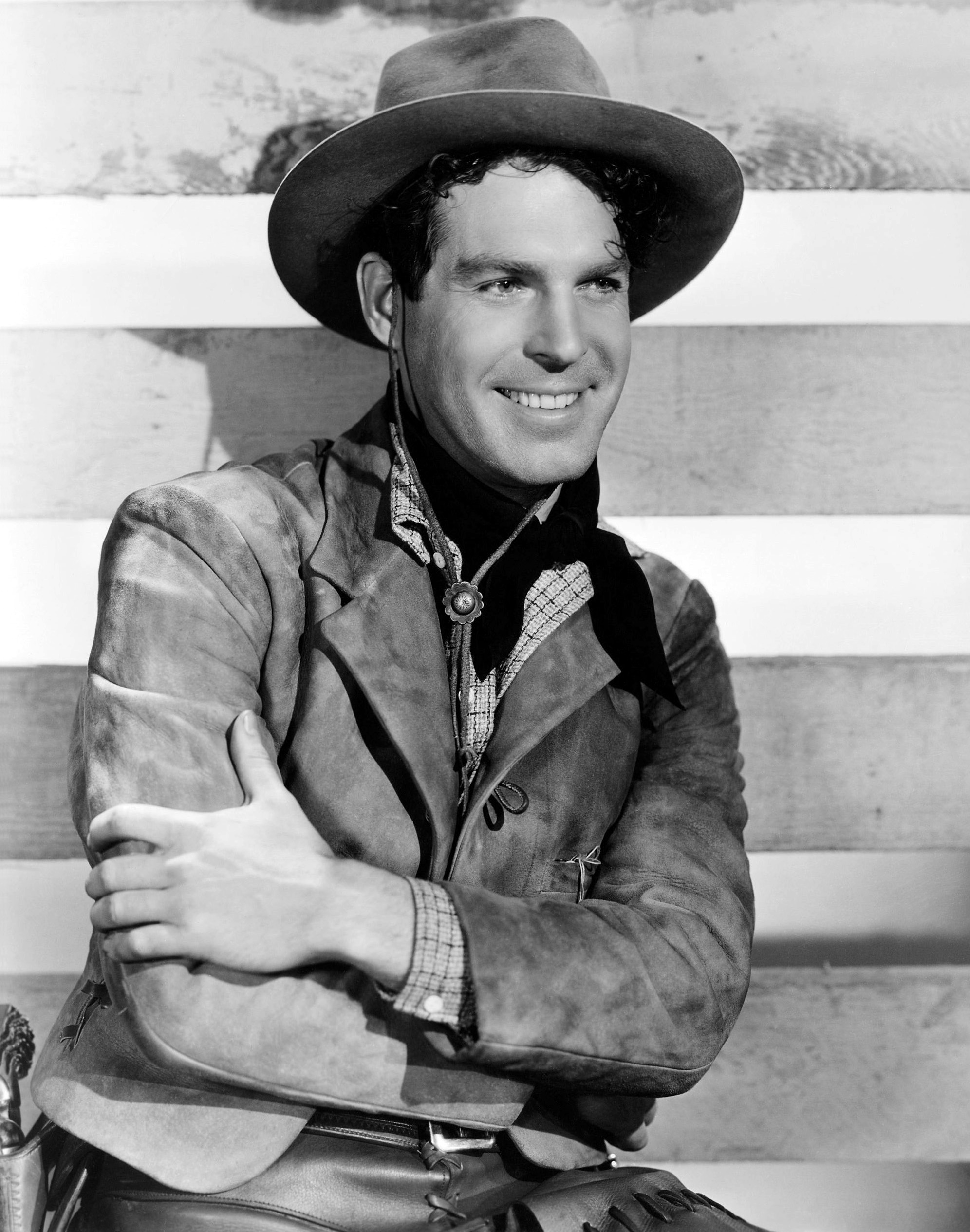 Fred MacMurray in The Texas Rangers
