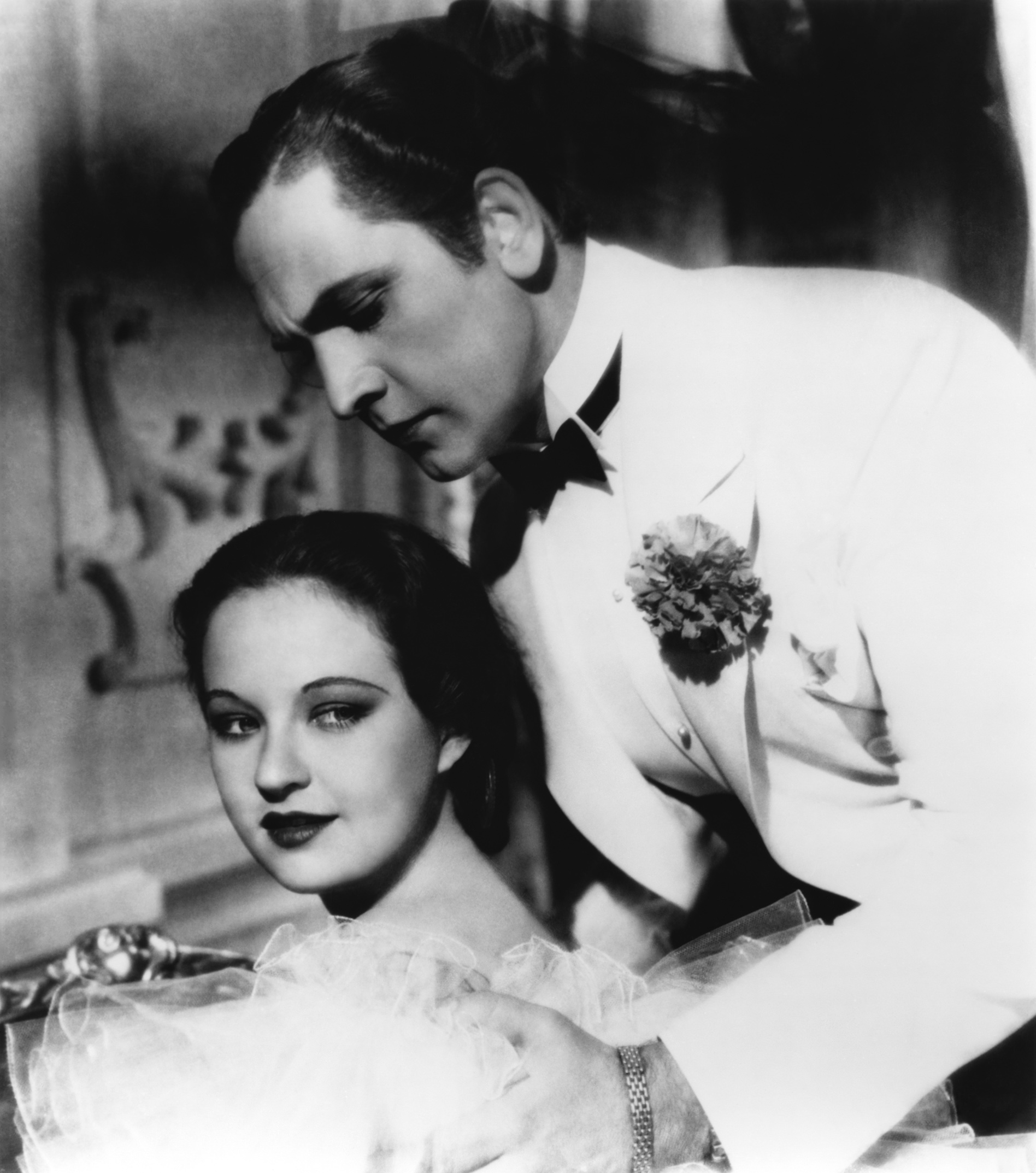 Fredric March With Evelyn Venable