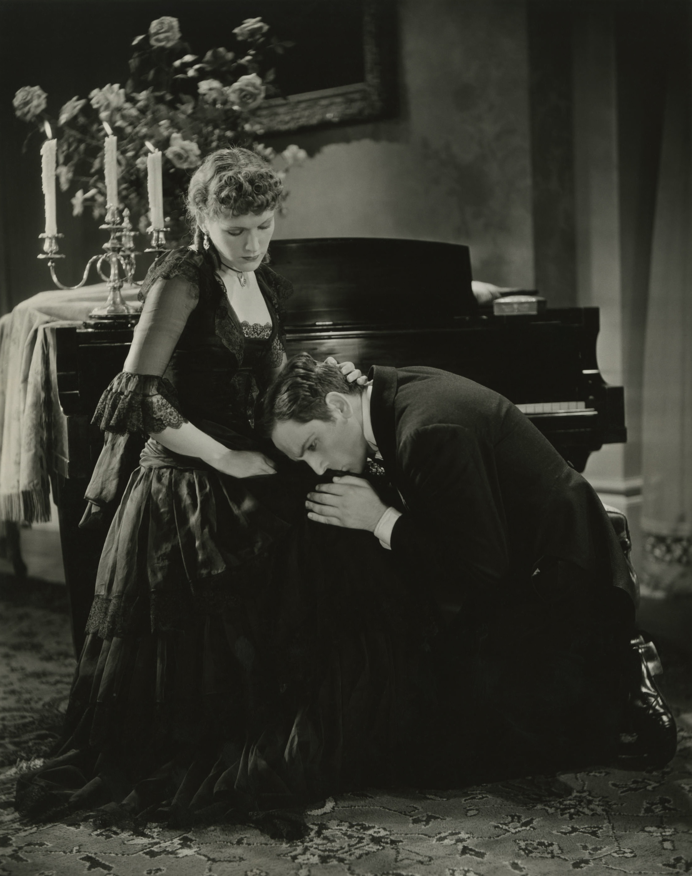 Fredric March With Rose Hobart.