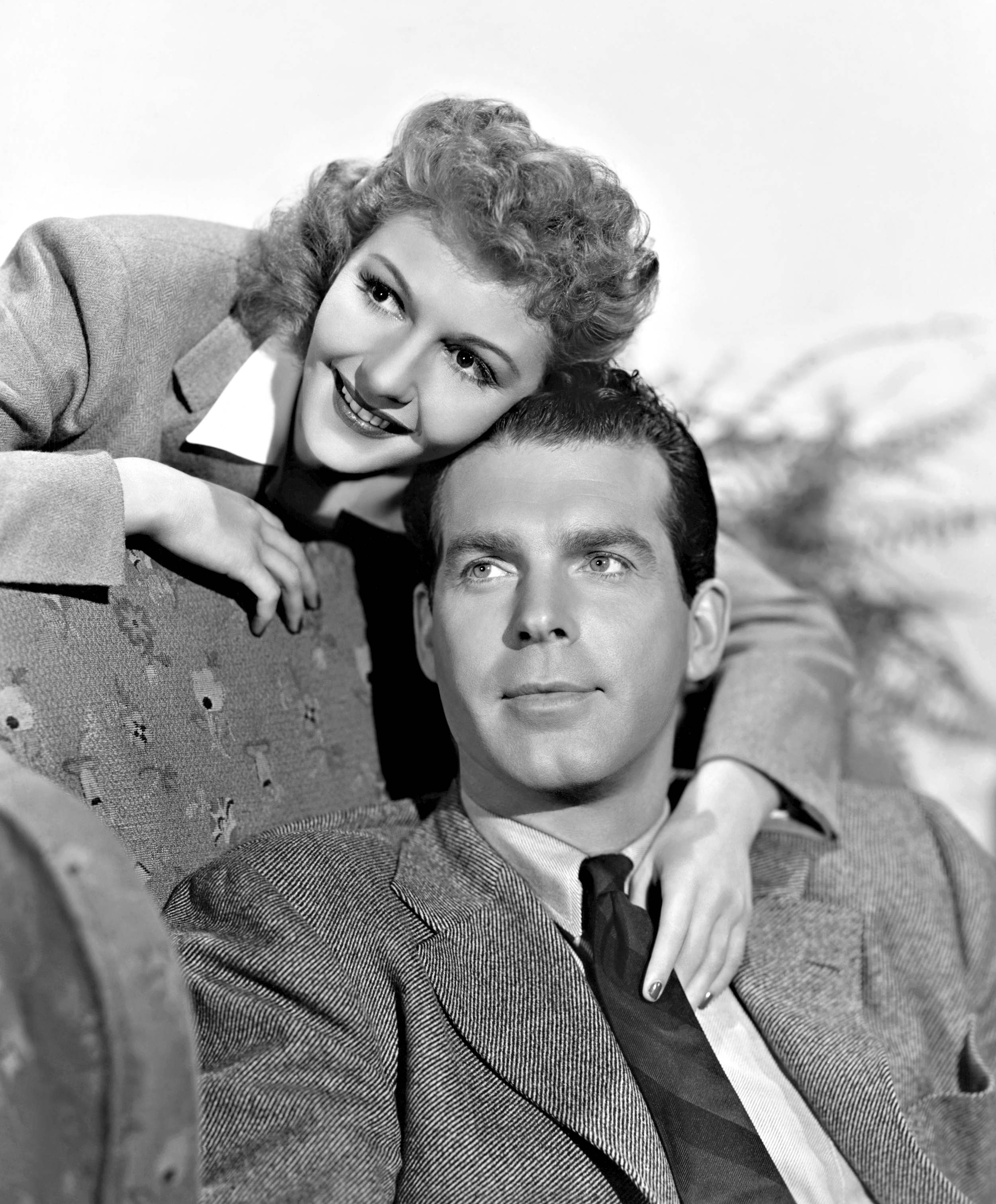 Mary Martin in New York Town With FredMacMurray