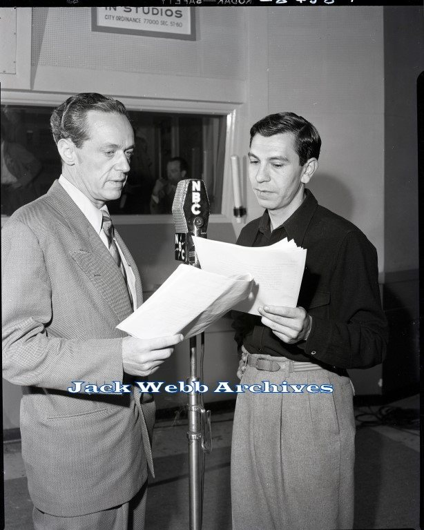 Jack Webb & Barton Yarborough
