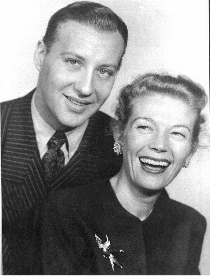 Bret Morrison and Lesley Woods