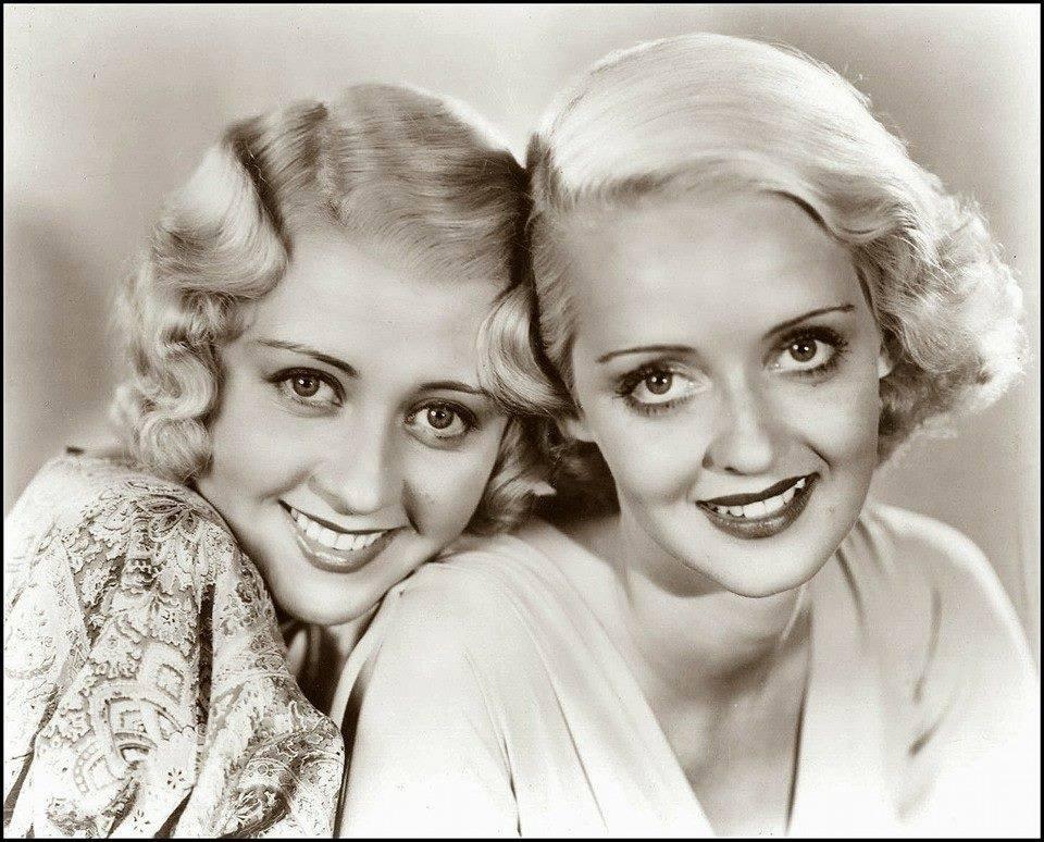 Bette Davis & Joan Blondell