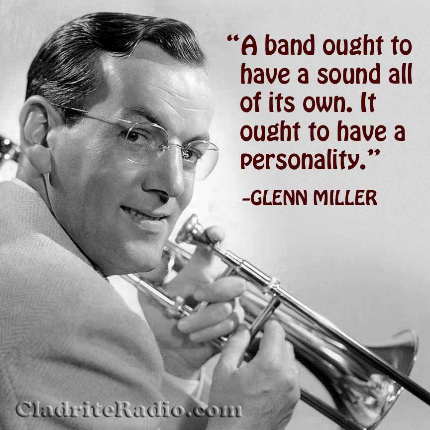 Alton Glenn Miller was born 112 years ago today in Clarinda, Iowa. His string of enduring hits was almost unmatched in the swing era: In the Mood, Moonlight Serenade, Chattanooga Choo-Choo, A String of Pearls, Pennsylvania 6-5000, (I've Got a Gal in) Kalamazoo, and so many more