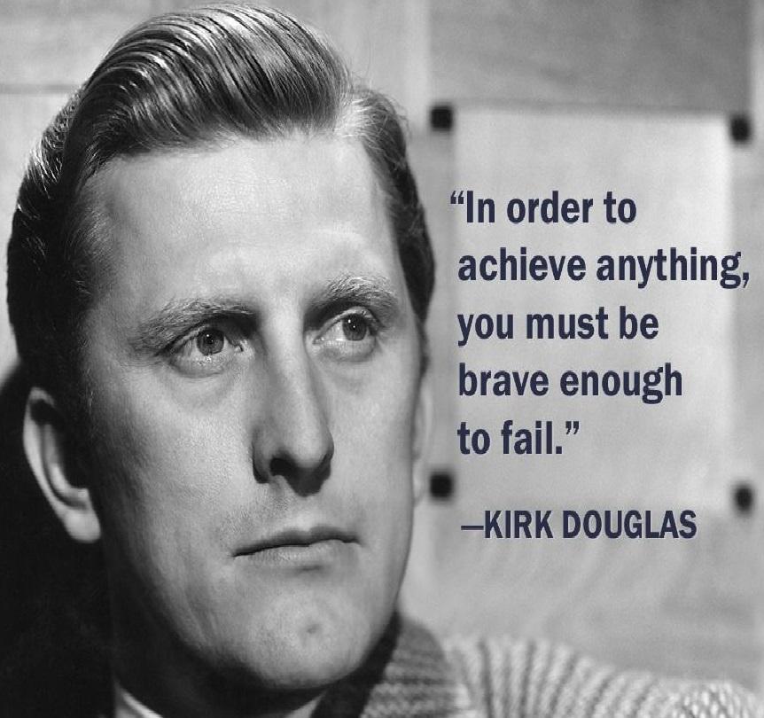 Kirk Douglas!