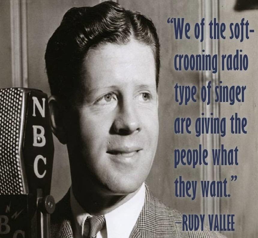 Rudy Vallée