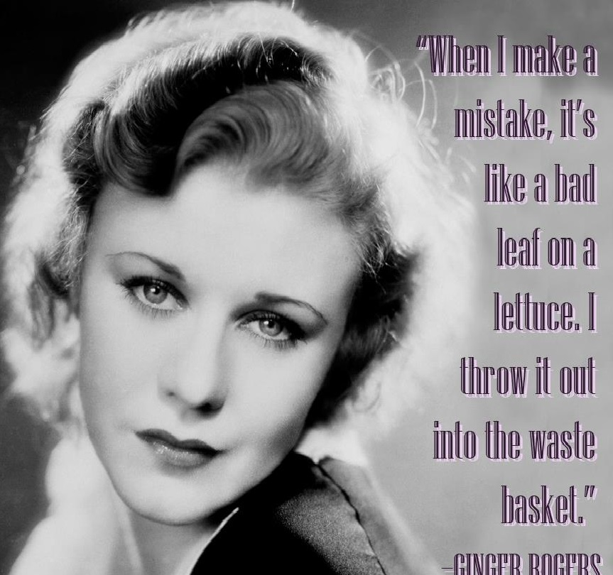 Ginger Rogers!