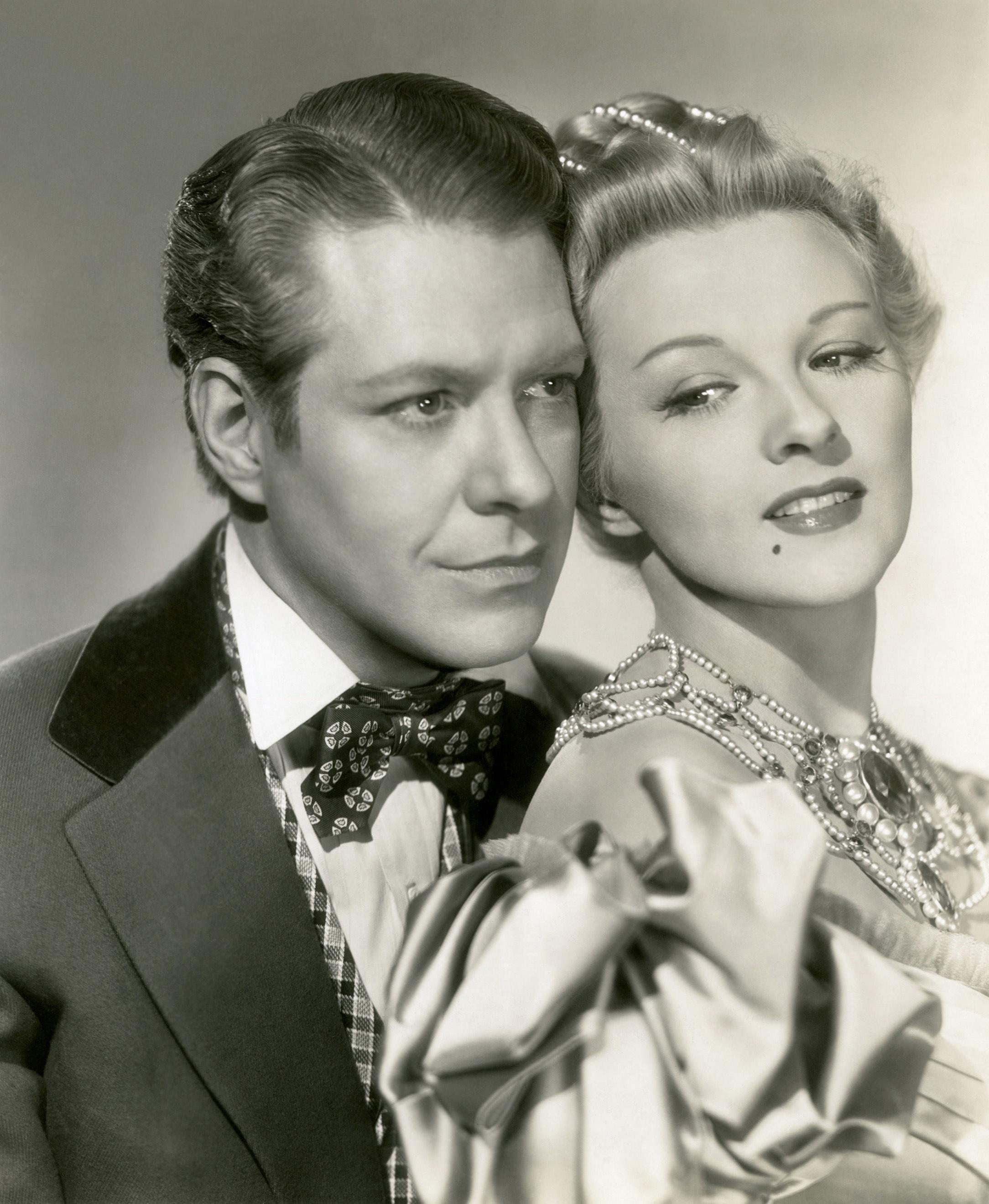 Ilona Massey With Nelson Eddy