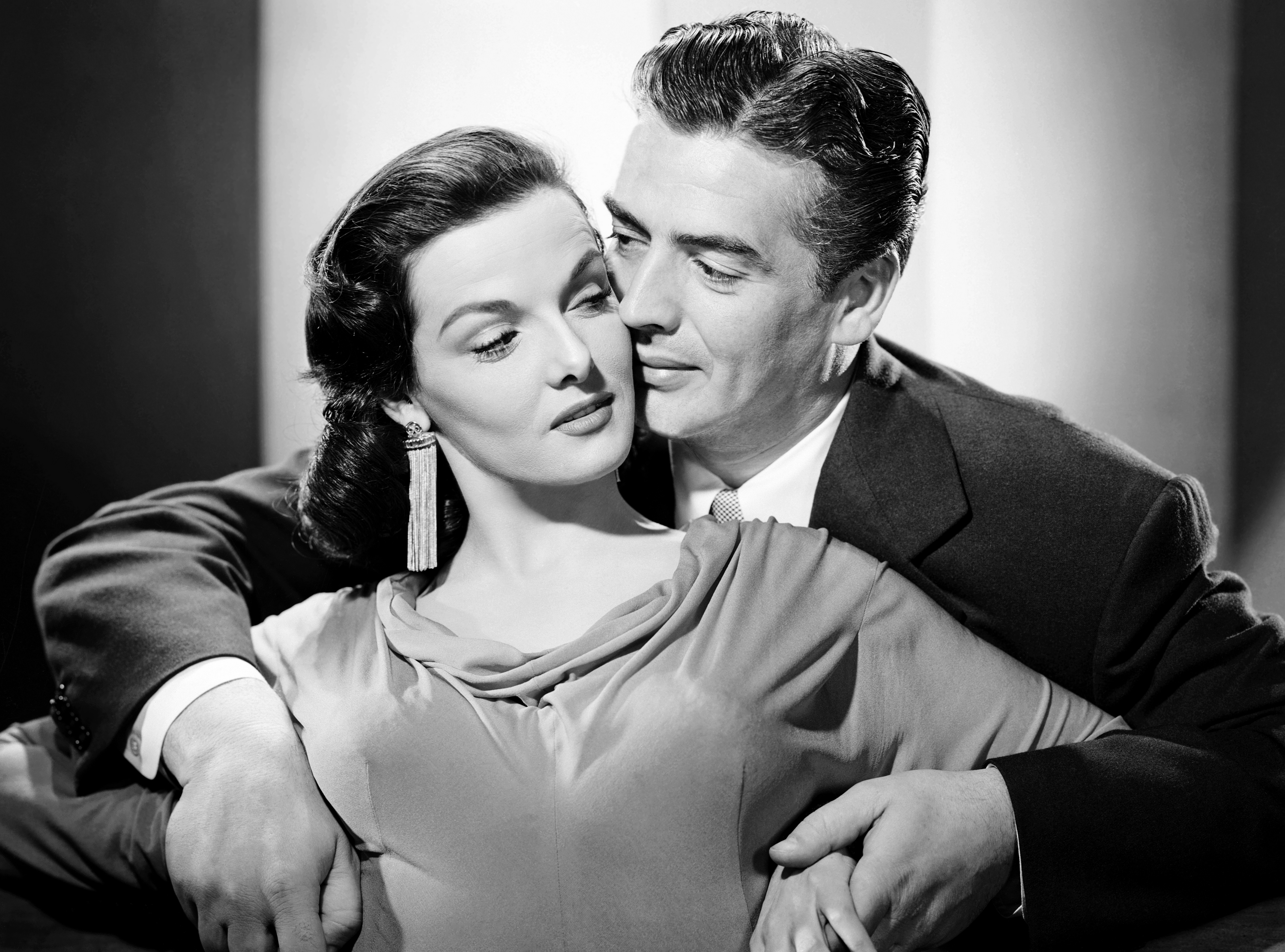 Victor Mature With Jane Russell