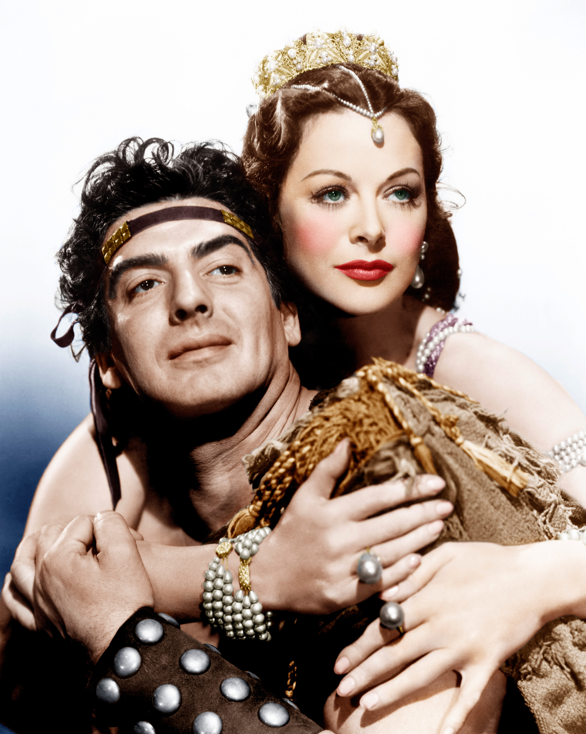 Victor Mature With Hedy Lamarr