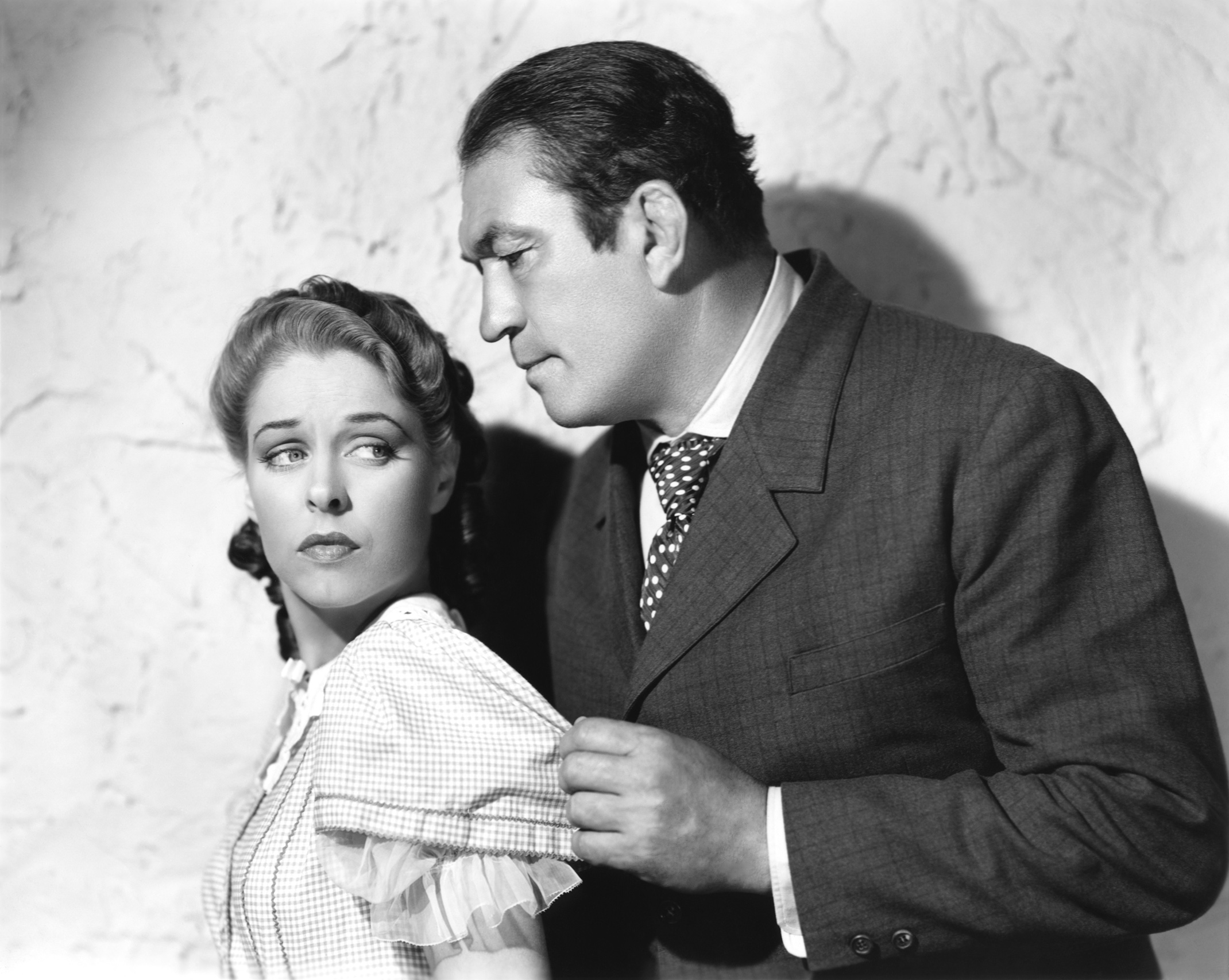 Victor McLaglen in Diamond Frontier With Anne Nagel
