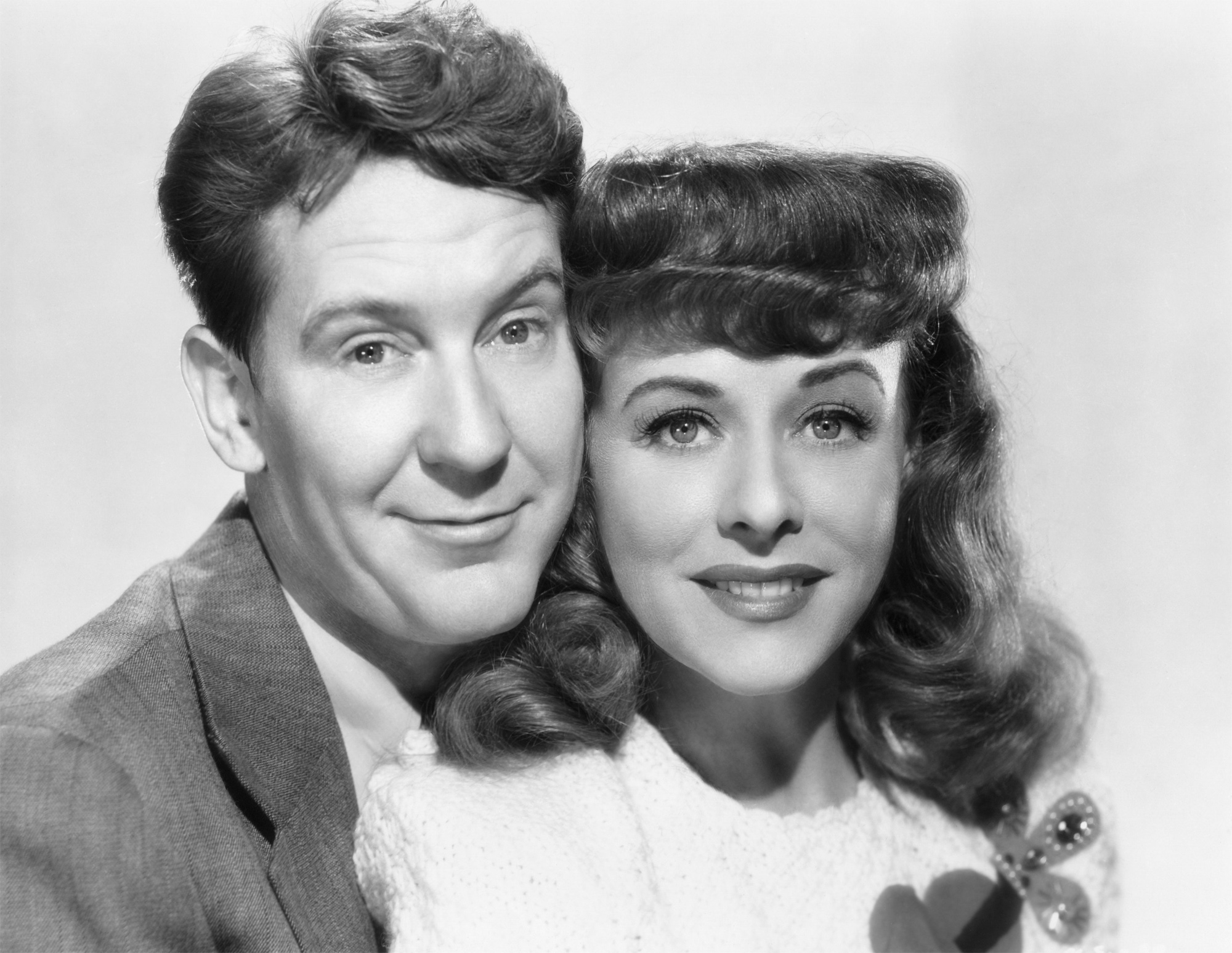 Burgess Meredith in A Miracle Can Happen With Paulette Goddard