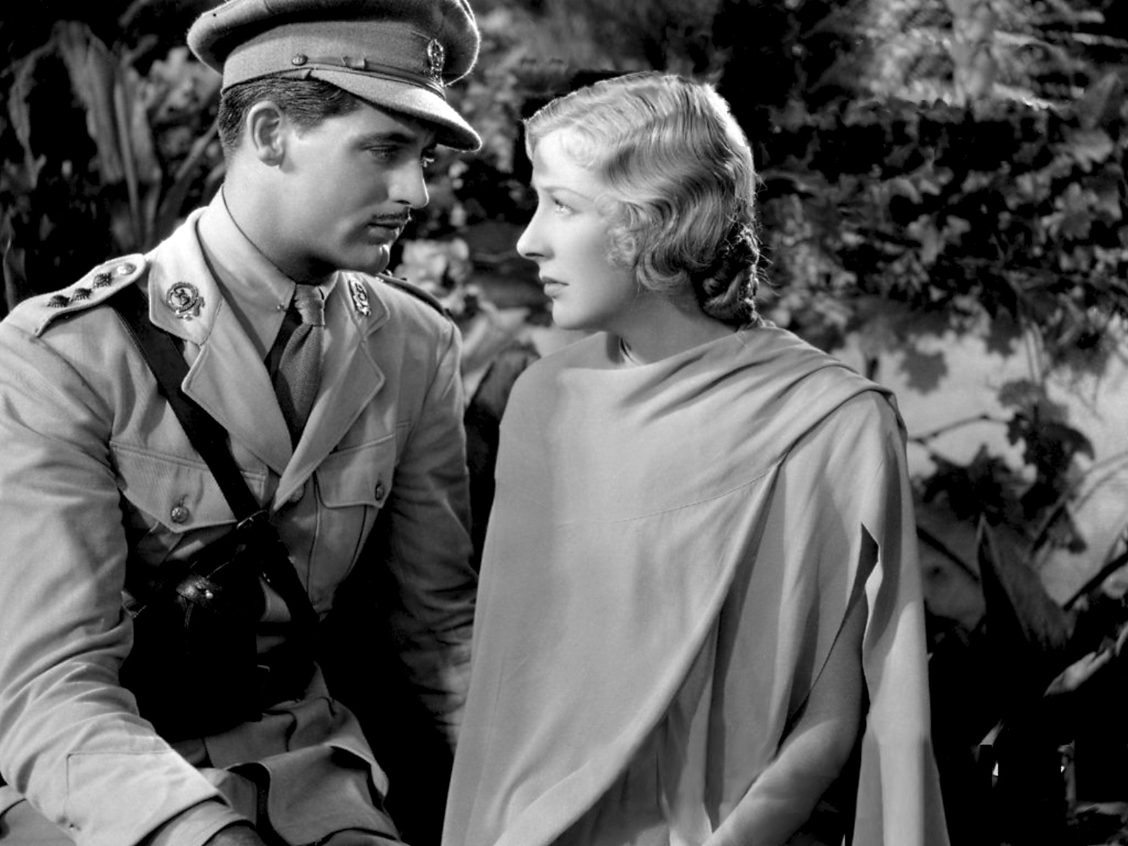 Gertrude Michael in The Last Outpost with With Cary Grant