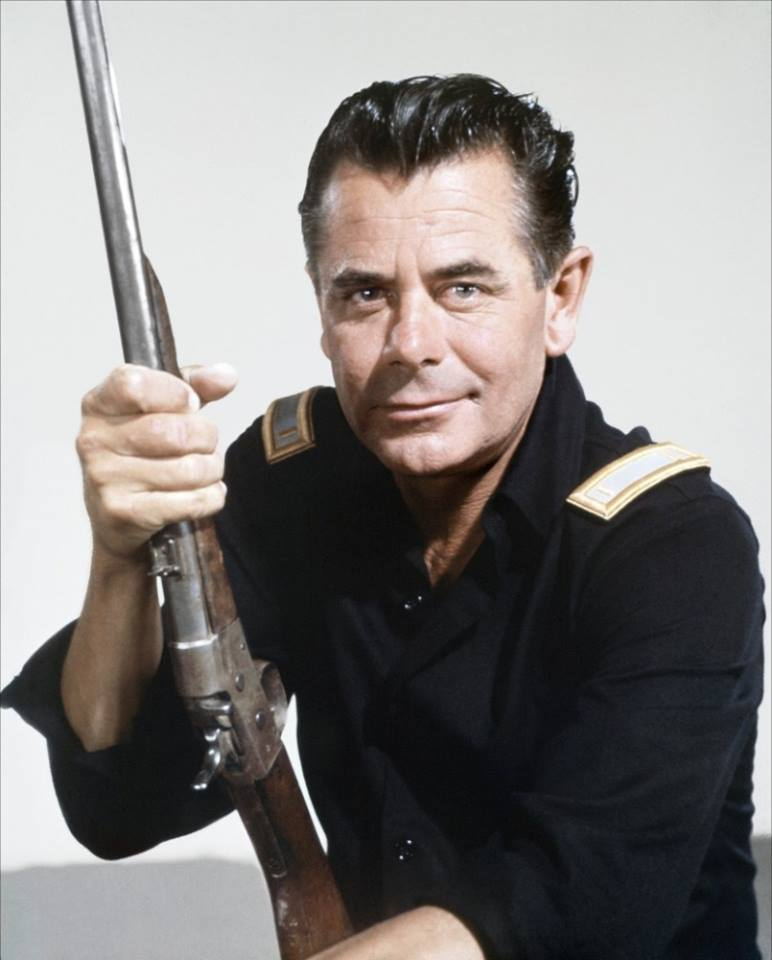 Glenn Ford ...,Glenn Ford was born today in 1916. The star of many westerns, Ford was credited with being the fastest