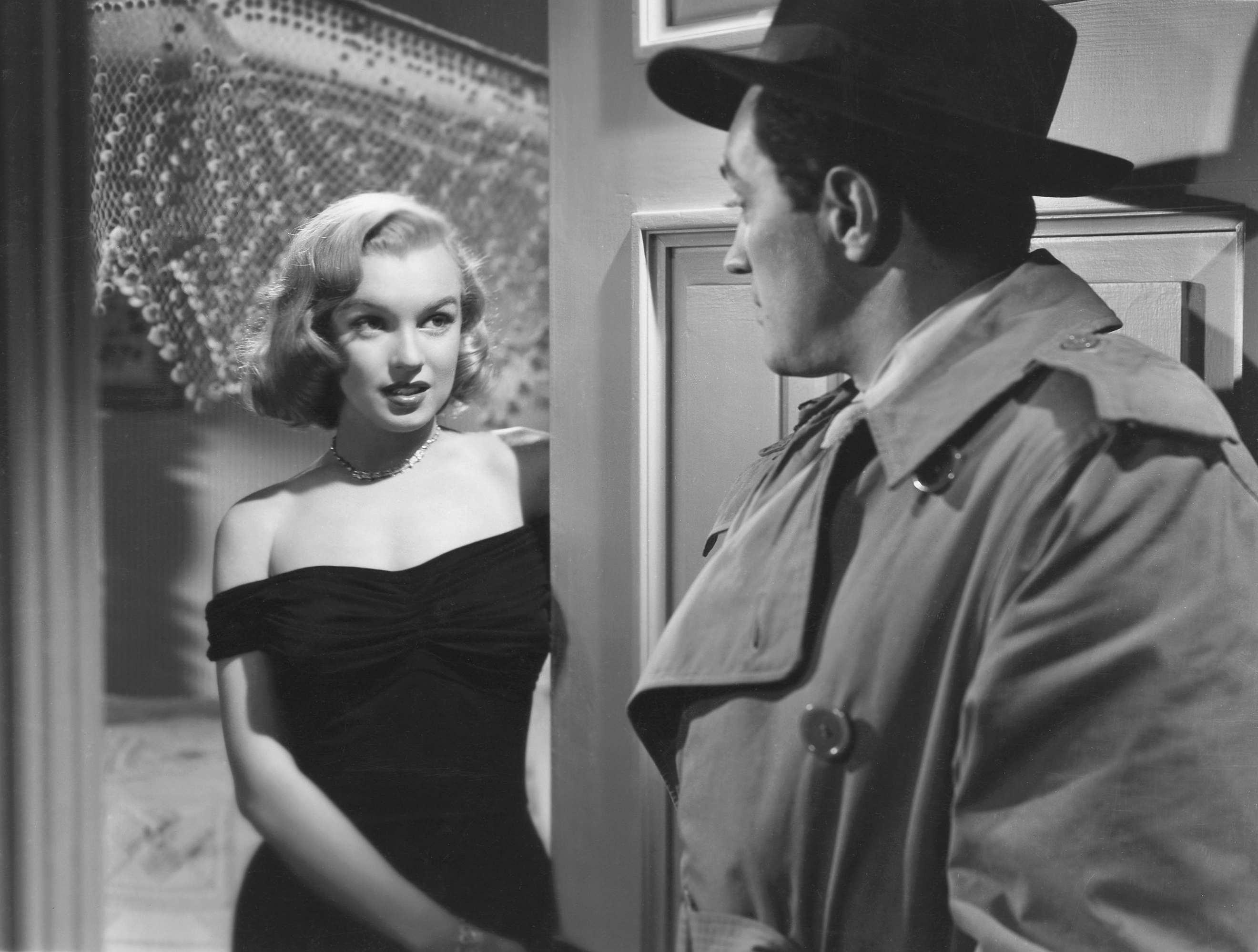 Marilyn Monroe with With Barry Kelley