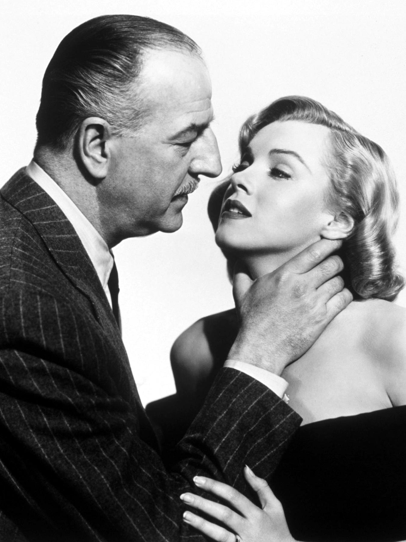 Marilyn Monroe With Louis Calhern