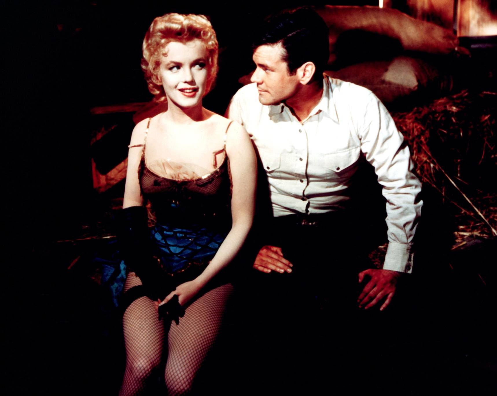 Marilyn Monroe With Don Murray